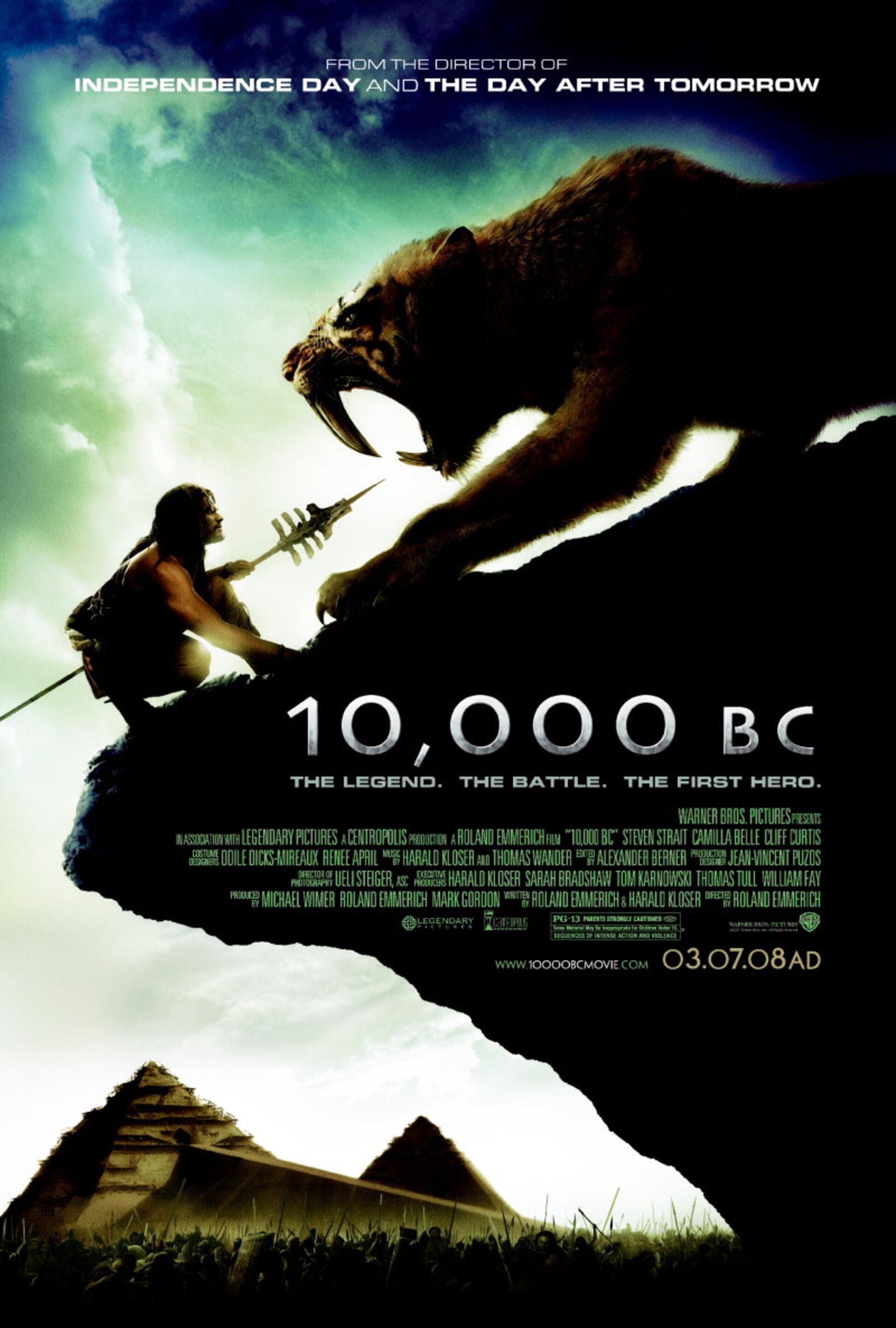 10,000 BC - Poster 1