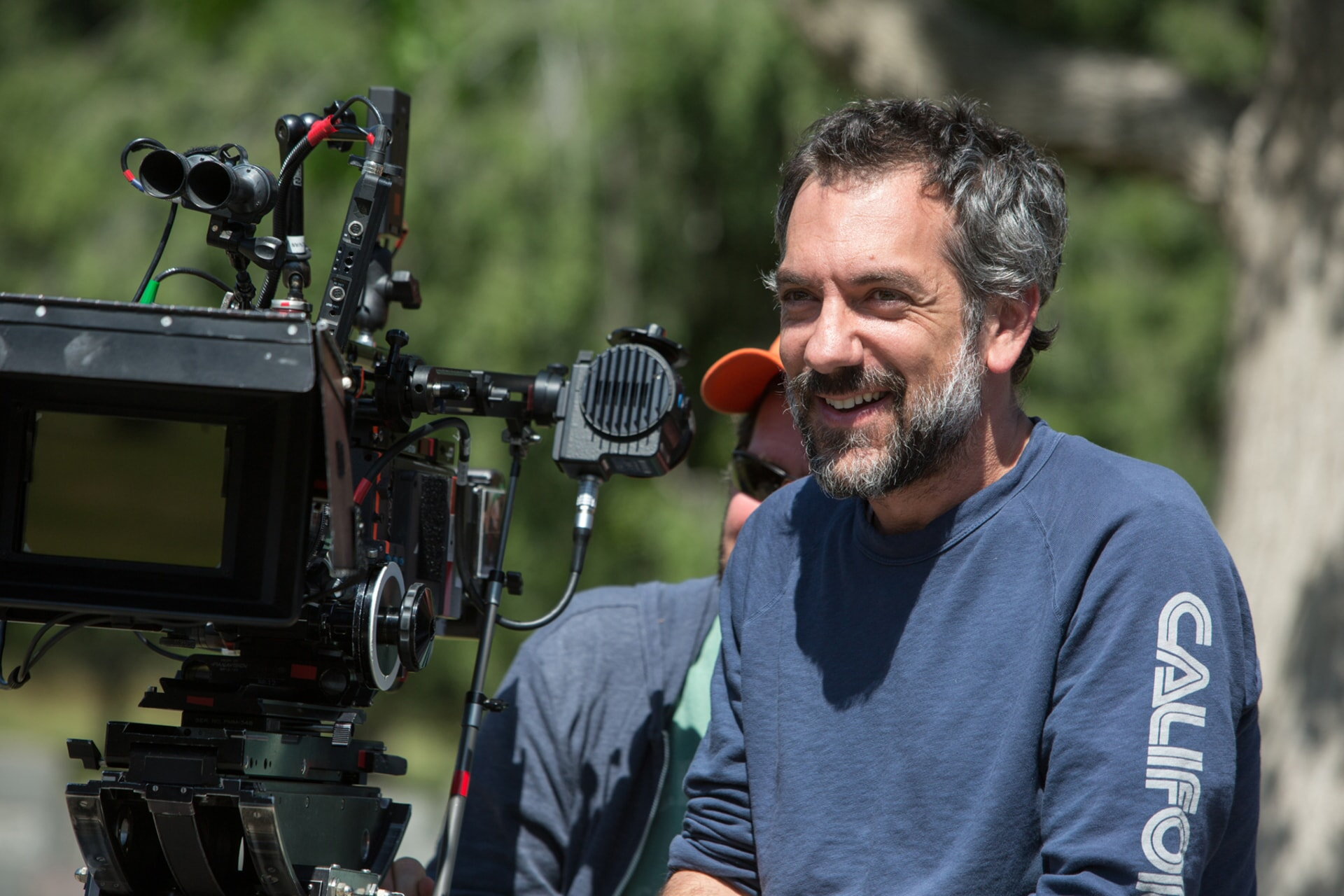 """Melinda Sue Gordon Caption: Director/writer/producer TODD PHILLIPS on the set of Warner Bros. Pictures' comedic drama (based on true events) """"WAR DOGS,"""" a Warner Bros. Pictures release."""