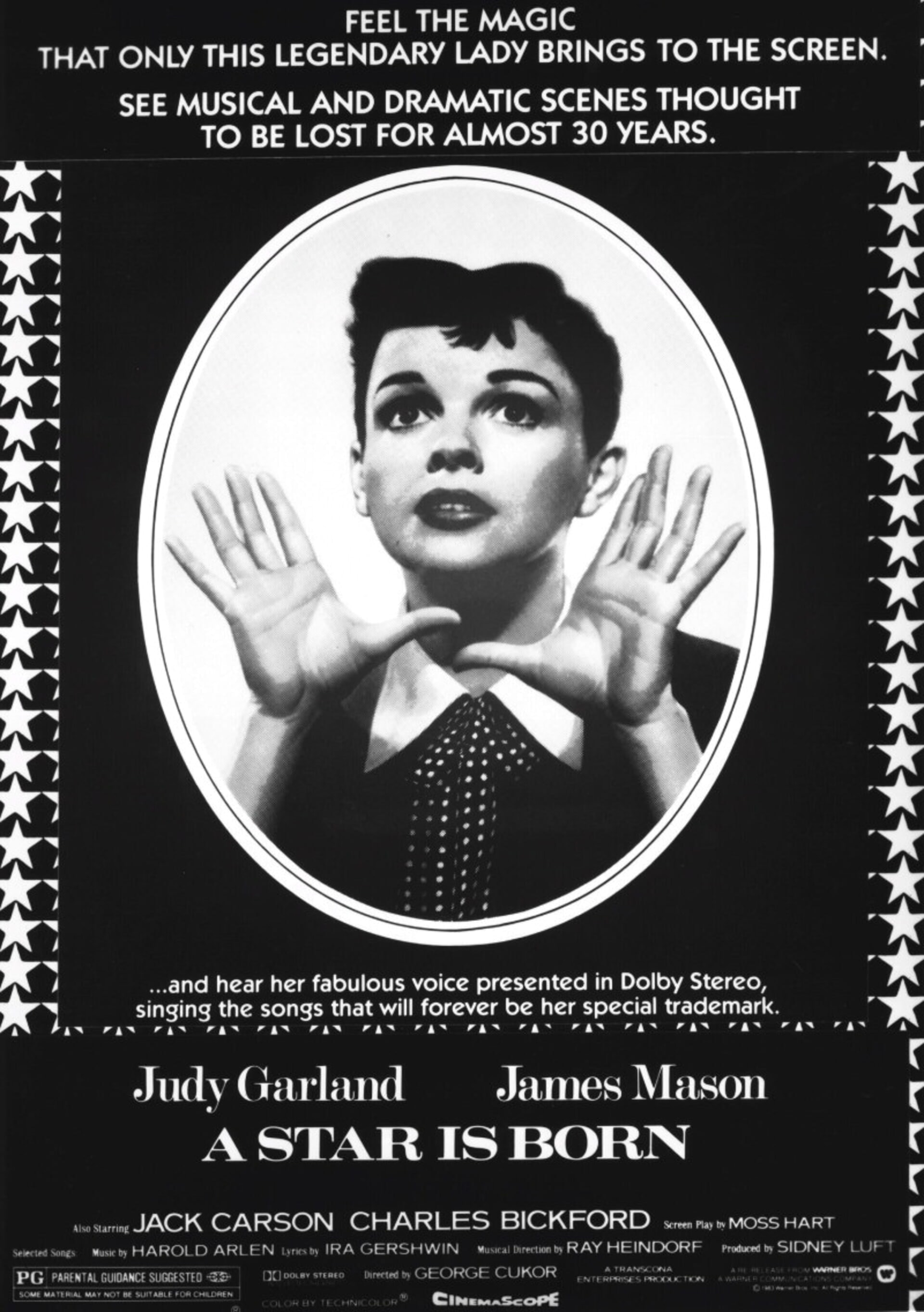 A Star Is Born (1954) - Poster 2