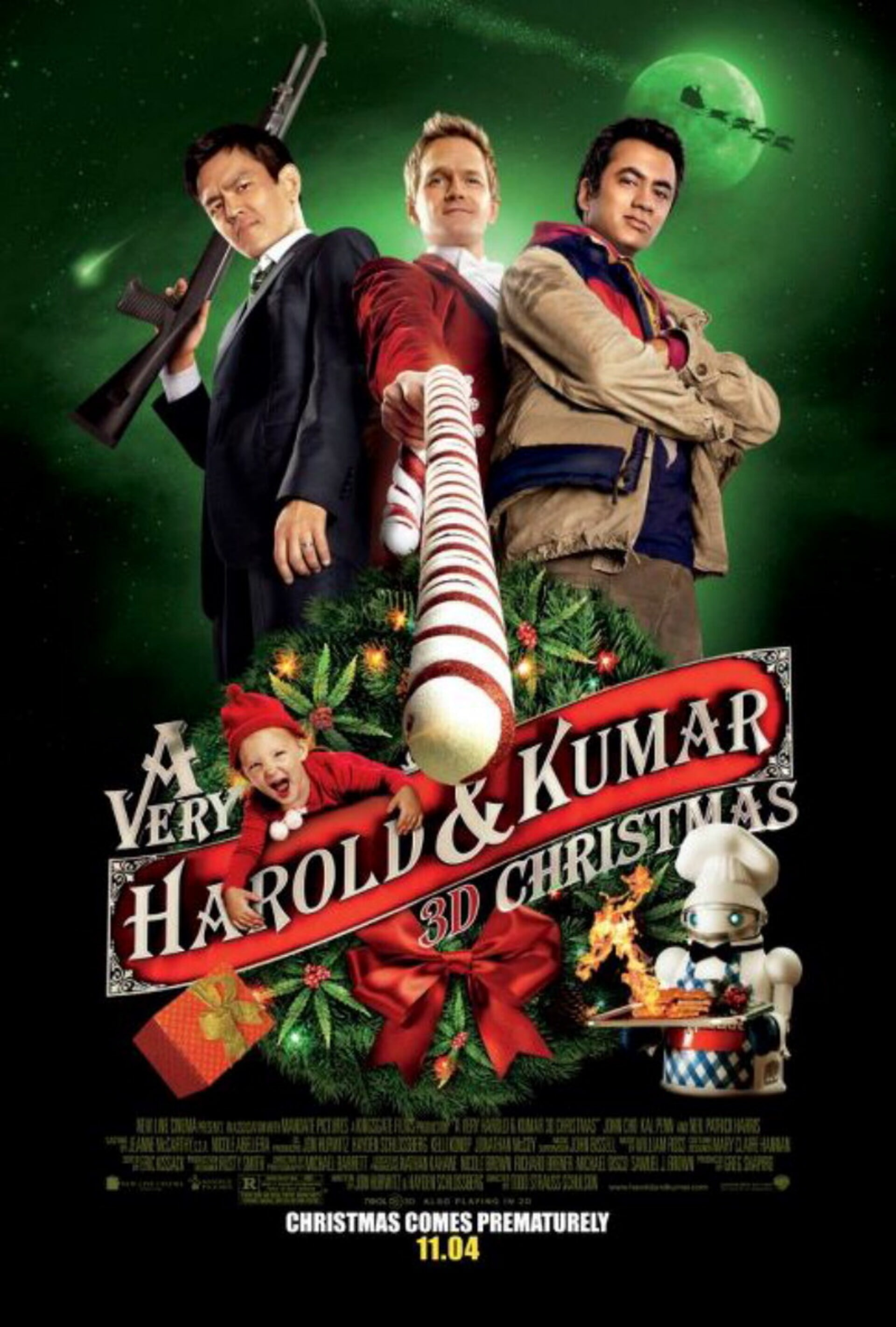 A Very Harold & Kumar Christmas - Poster 2