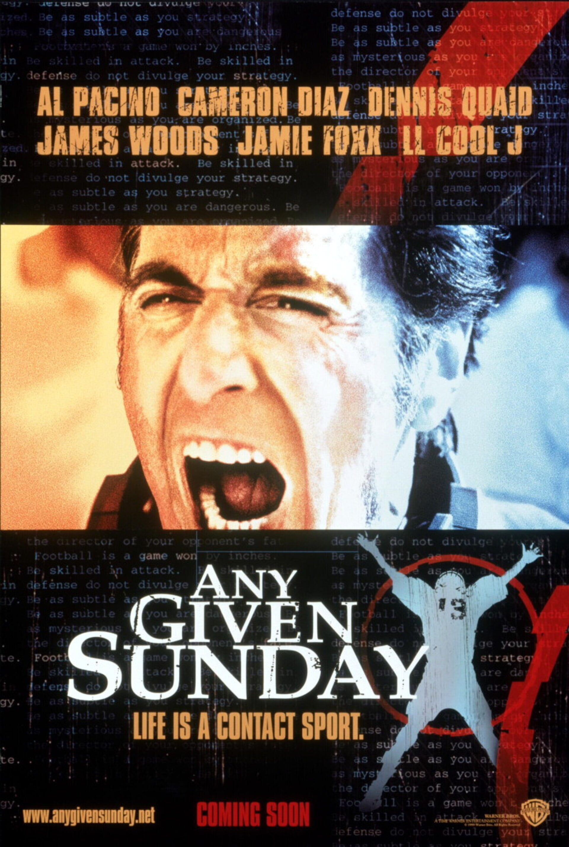 Any Given Sunday - Poster 1