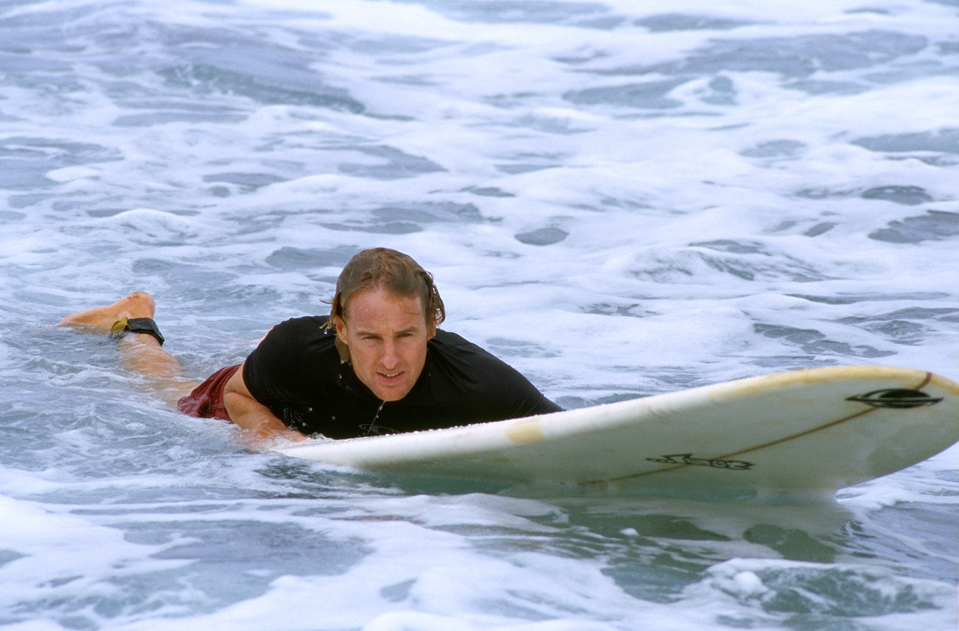 owen wilson surfing in the big bounce