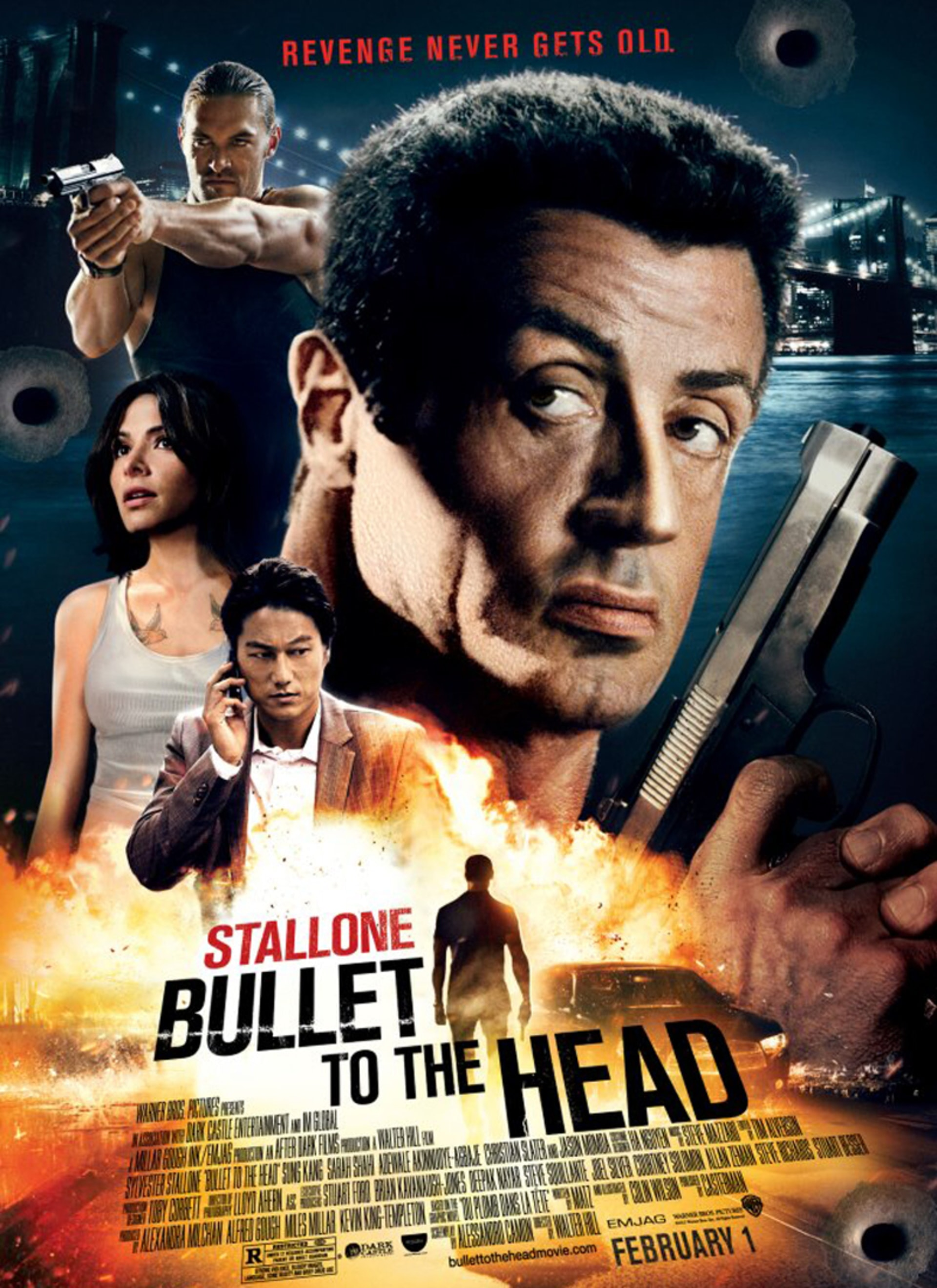 Bullet to the Head - Poster 1