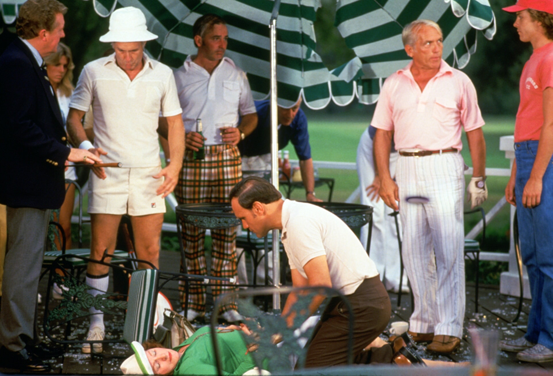 ted night as judge smails in caddyshack