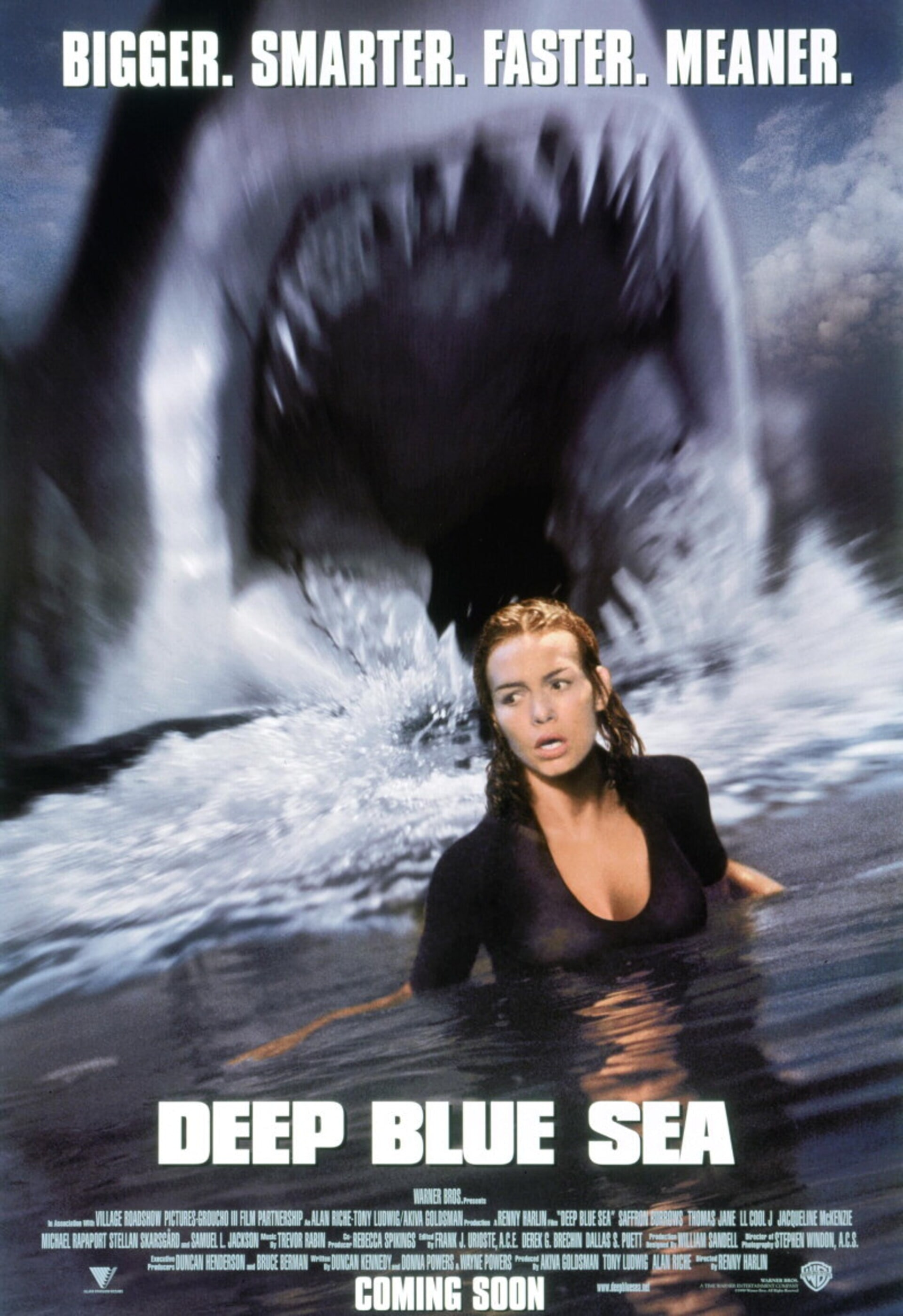 Deep Blue Sea - Poster 1