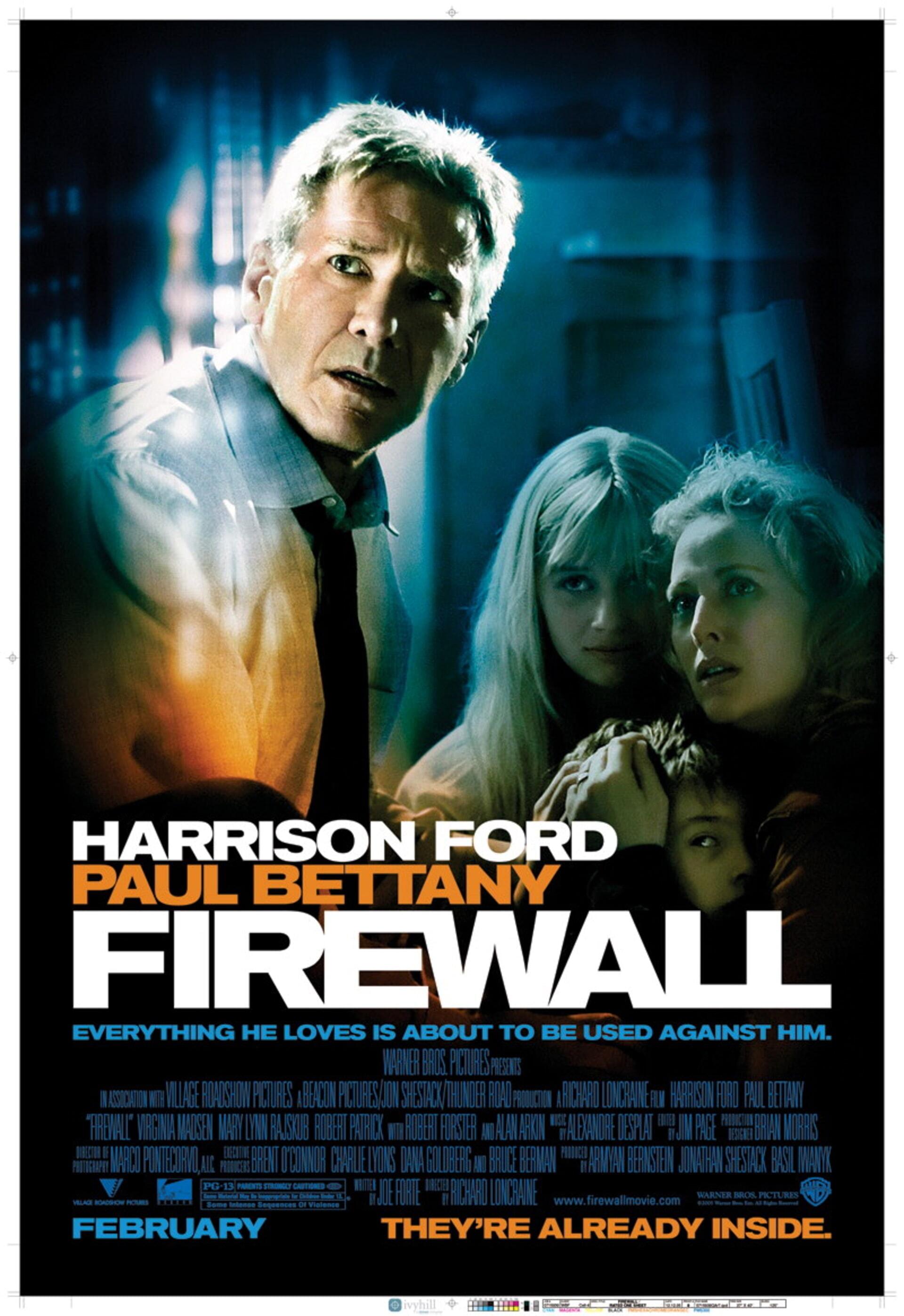 Firewall - Poster 1