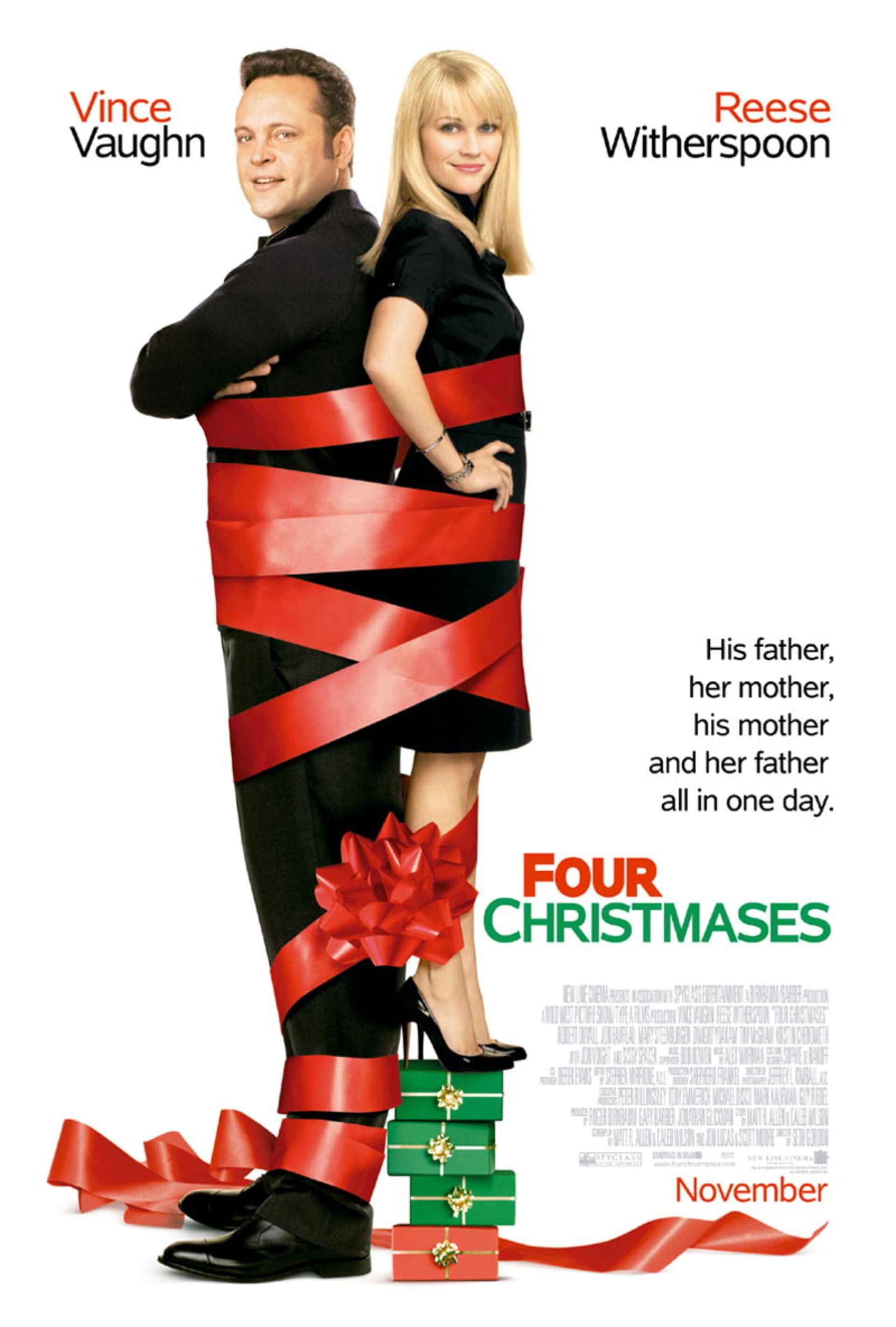 Four Christmases - Poster 1