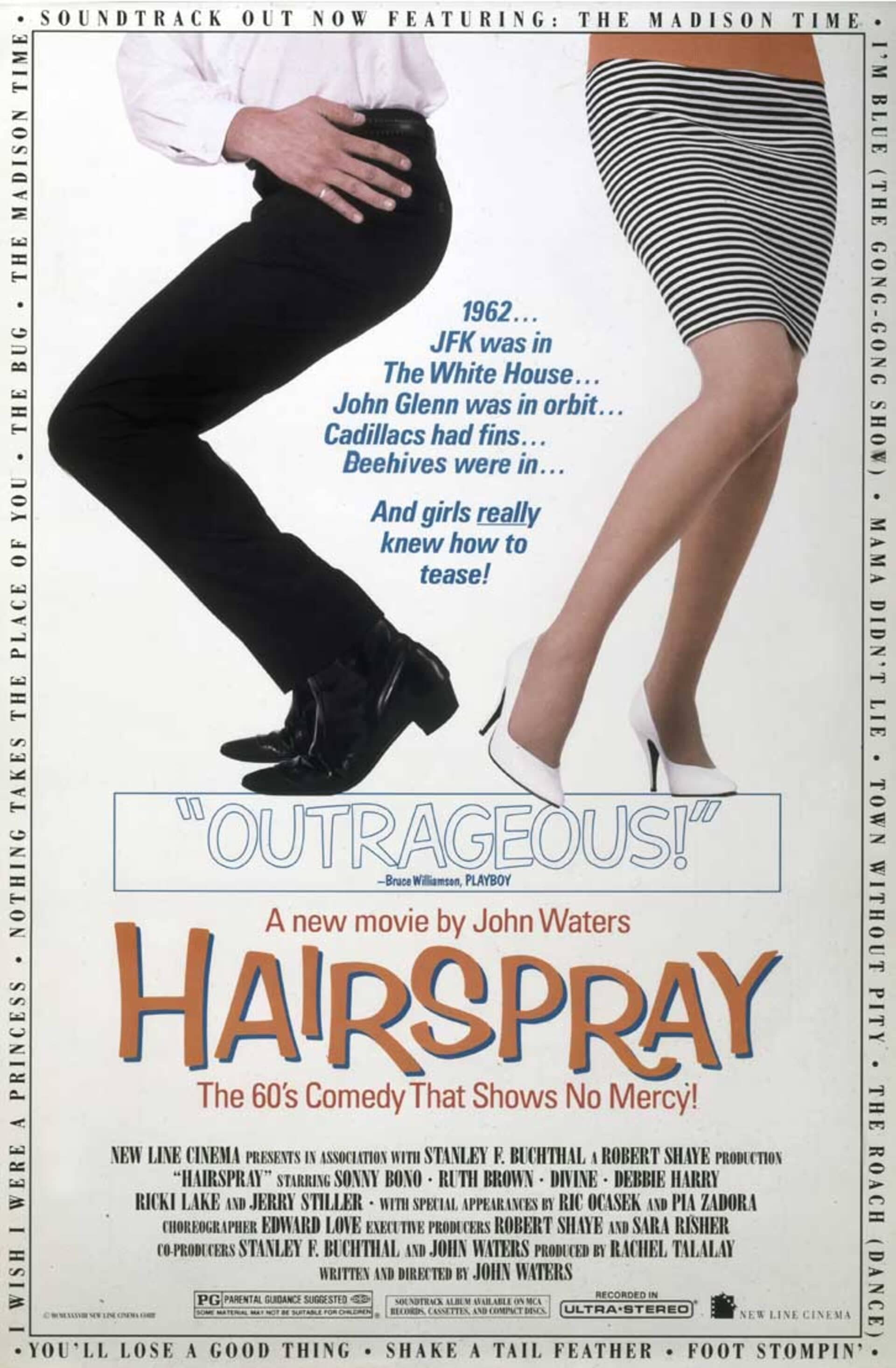 Hairspray (1988) - Poster 1