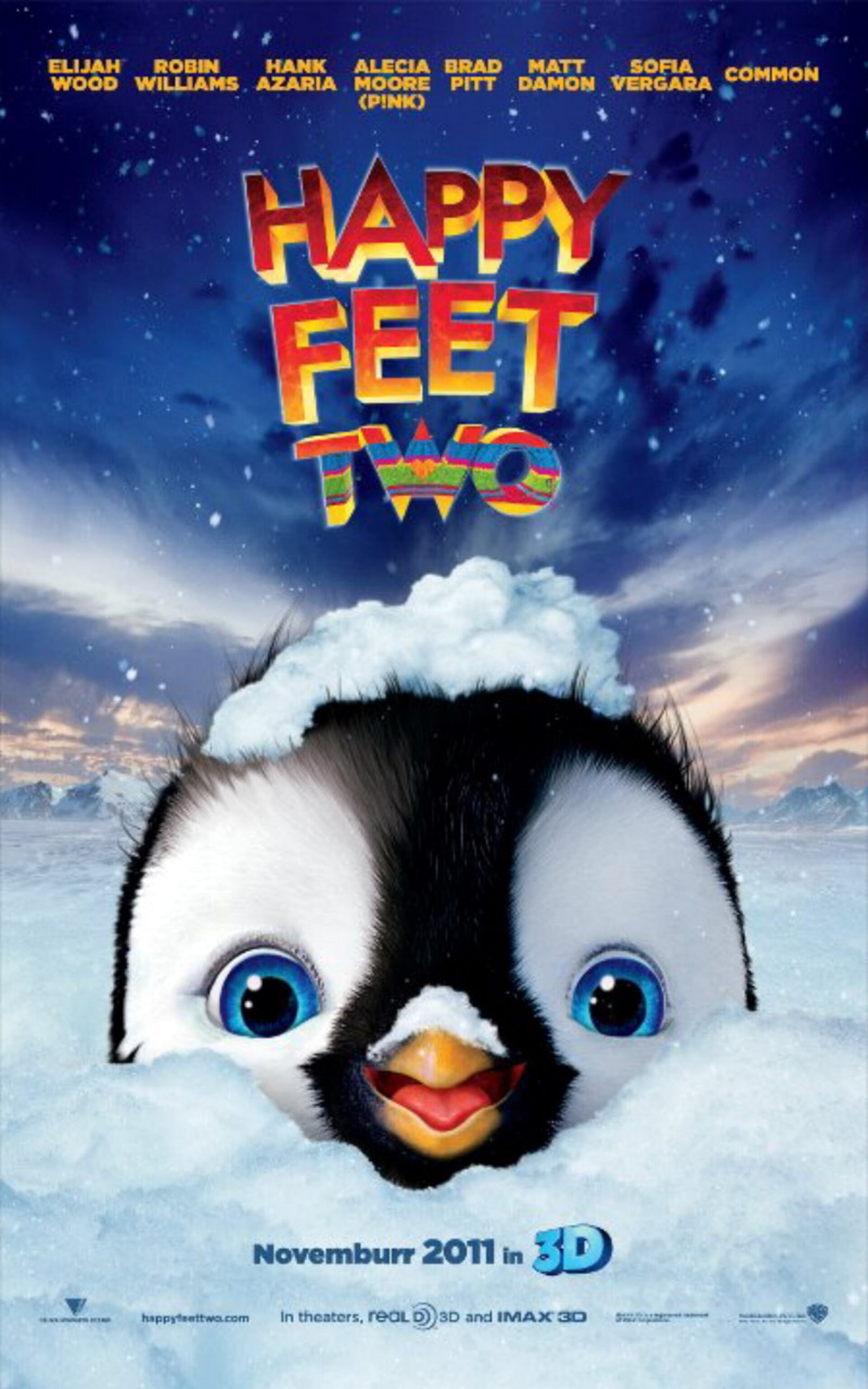 Happy Feet Two - Poster 1