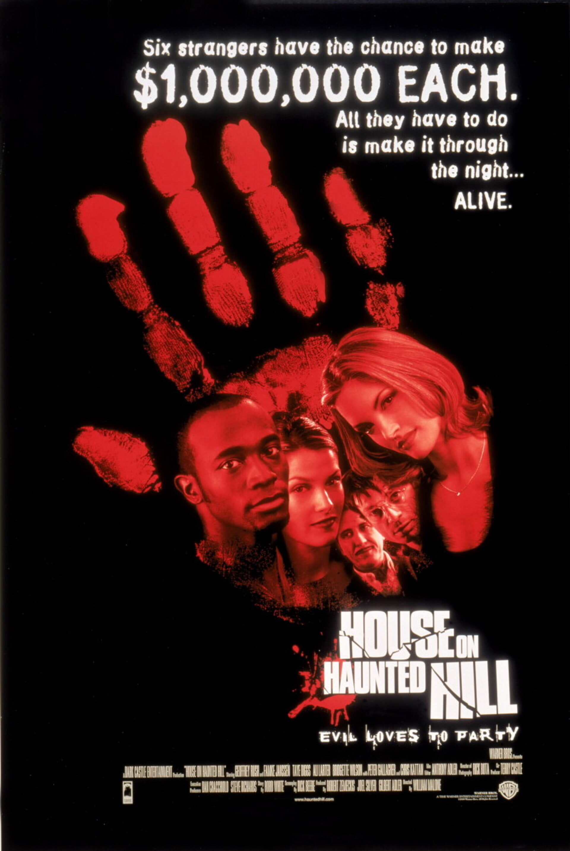 House on Haunted Hill (1999) - Poster 1