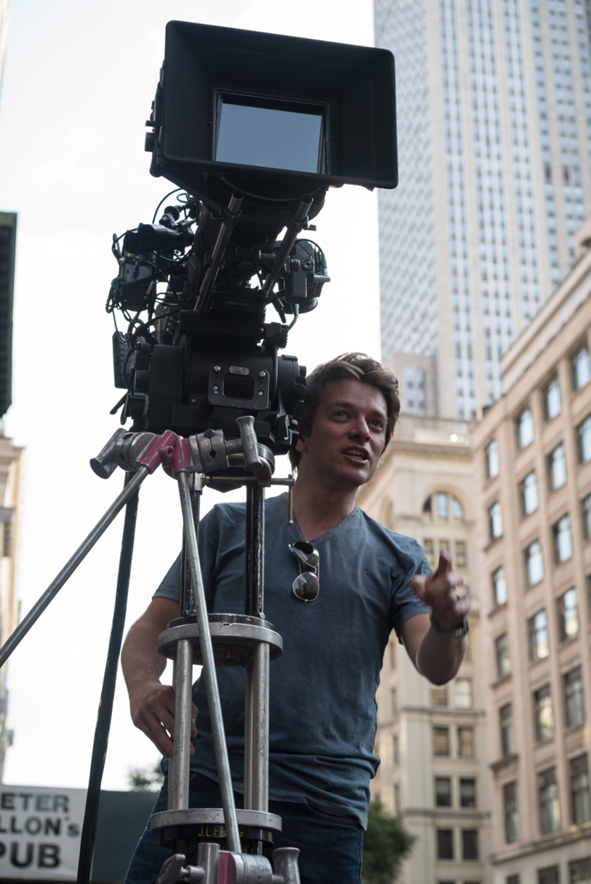 "Director CHRISTIAN DITTER on the set of New Line Cinema's, Metro-Goldwyn-Mayer Pictures' and Flower Films' comedy ""HOW TO BE SINGLE,"" a Warner Bros. Pictures release."