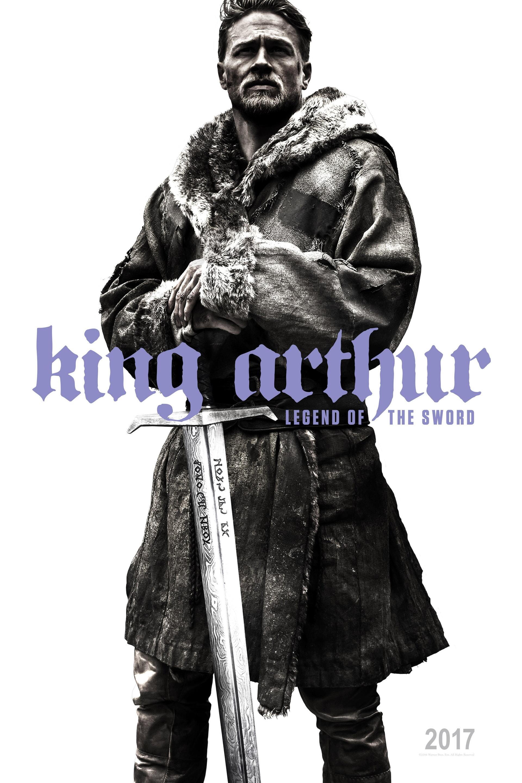 Charlie Human as King Arthur