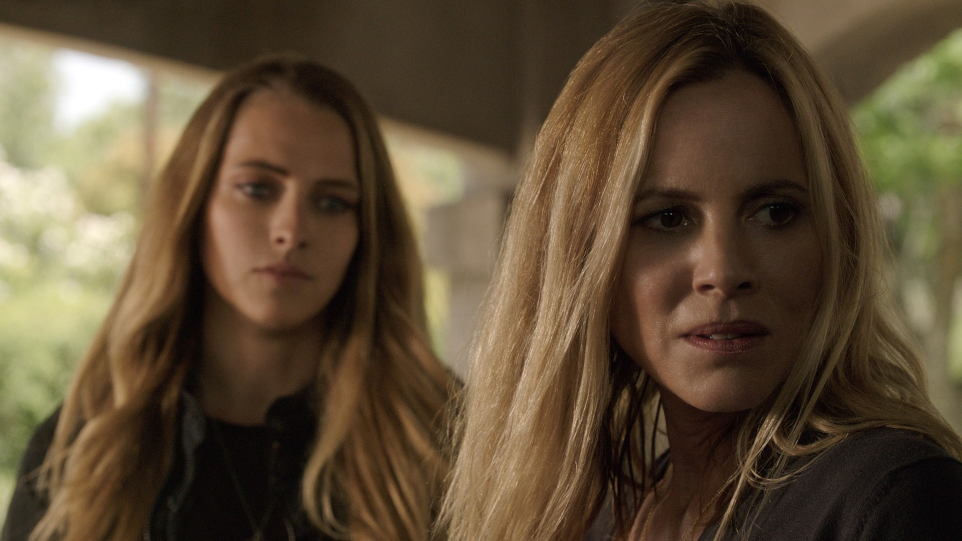 TERESA PALMER as Rebecca and MARIA BELLO as Sophie