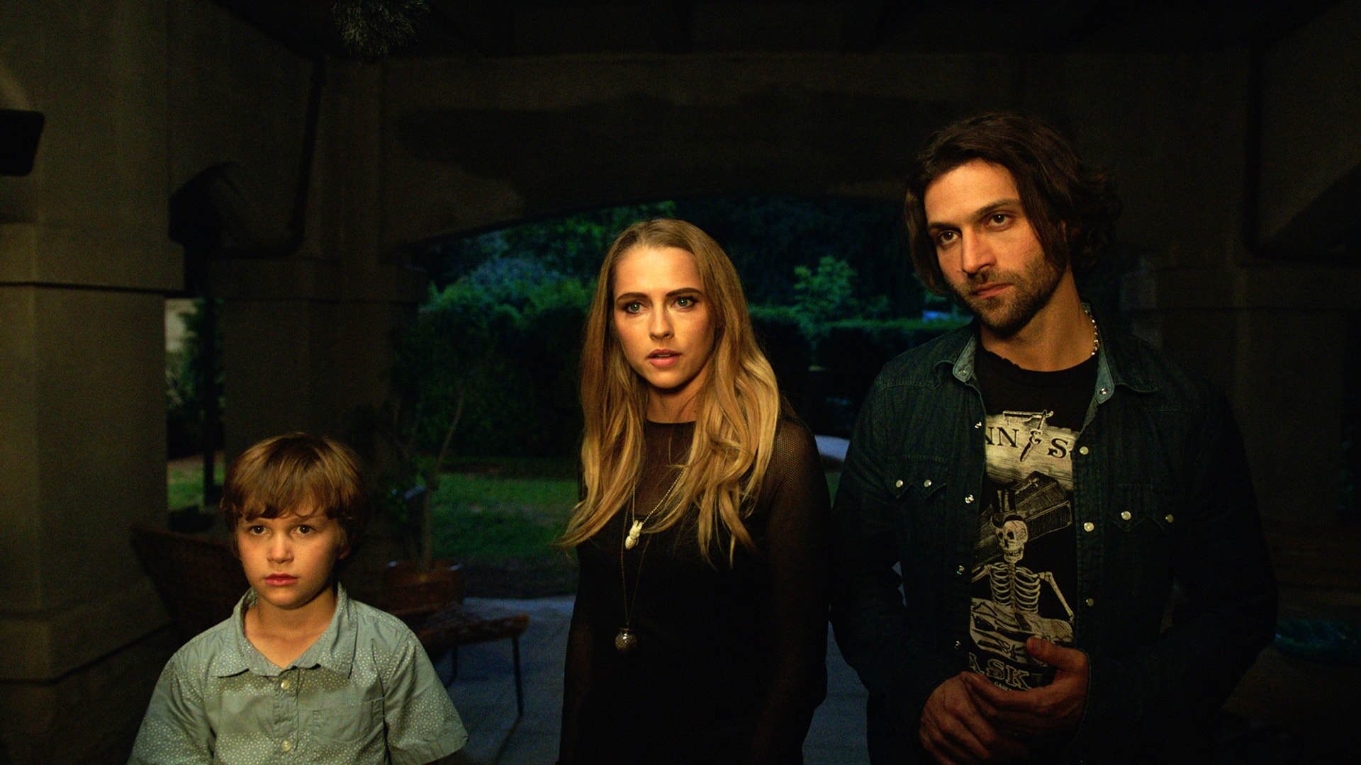 GABRIEL BATEMAN as Martin, TERESA PALMER as Rebecca and ALEXANDER DIPERSIA as Bret