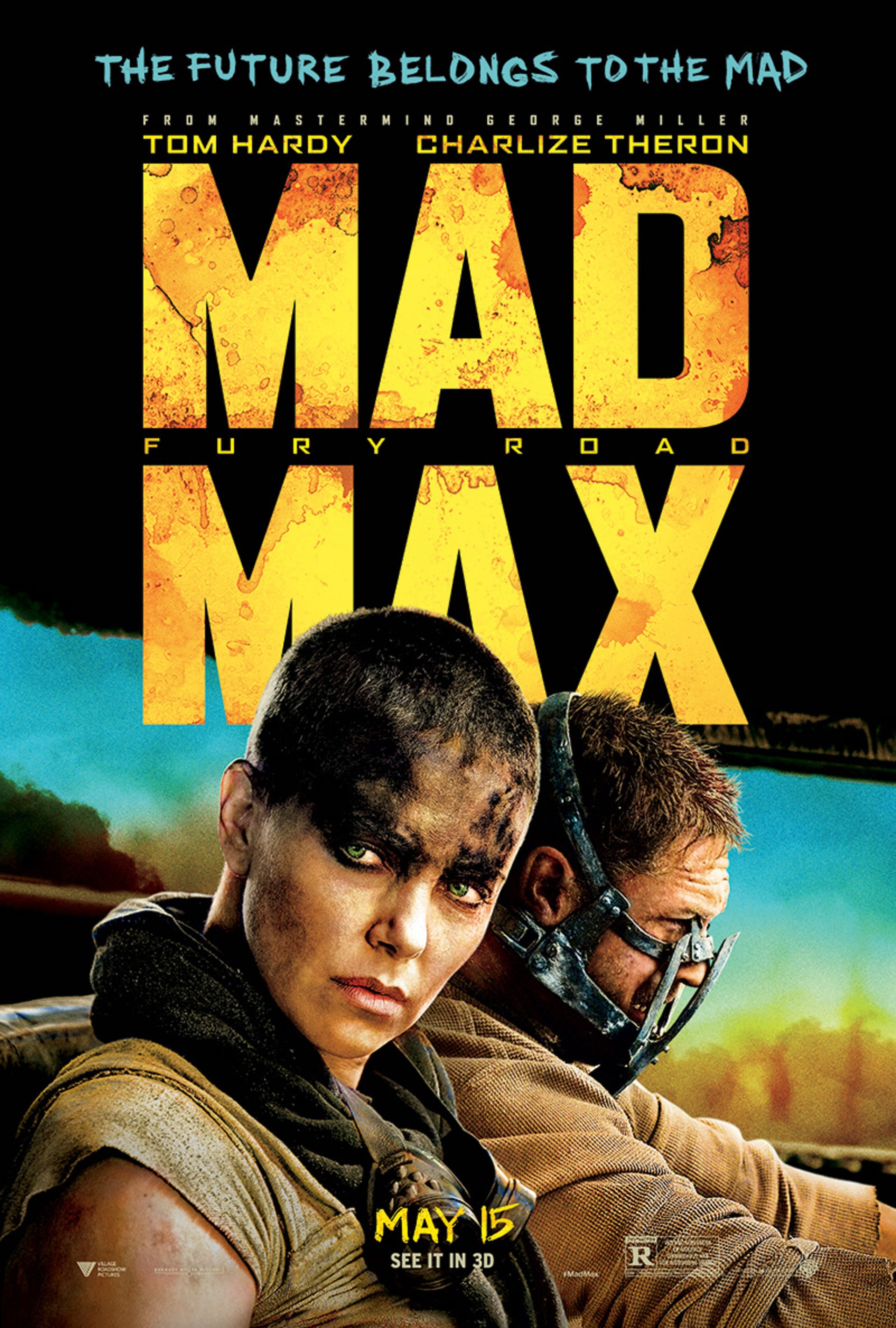 mad max fury road black and chrome edition смотреть
