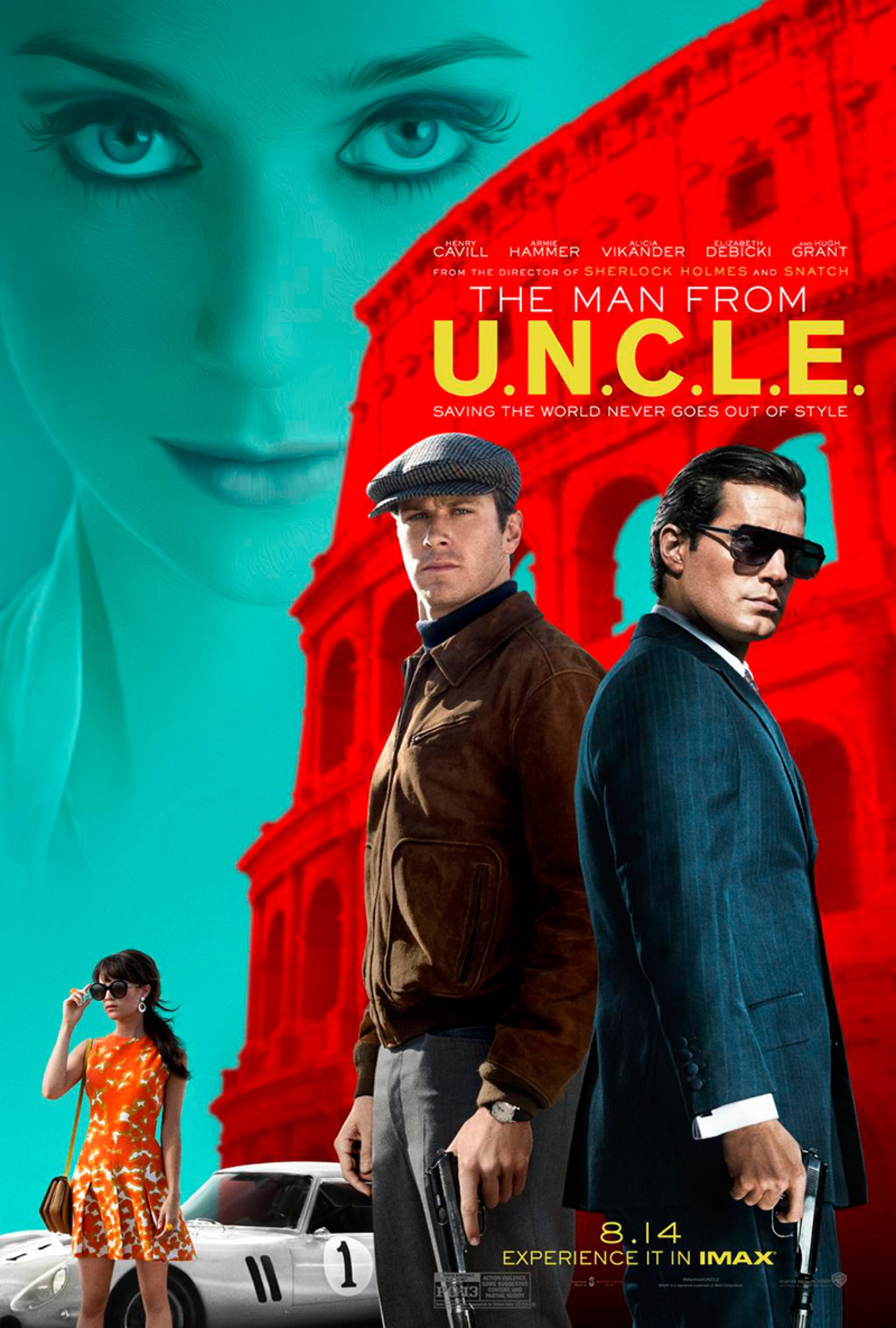 The Man From U.N.C.L.E. - Poster 1
