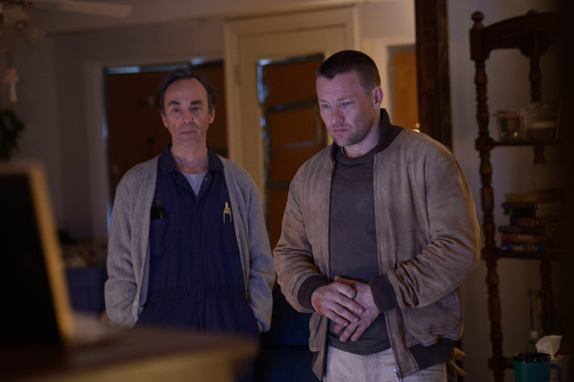 "DAVID JENSEN as Elden and JOEL EDGERTON as Lucas in director Jeff Nichols' sci-fi thriller ""MIDNIGHT SPECIAL,"""