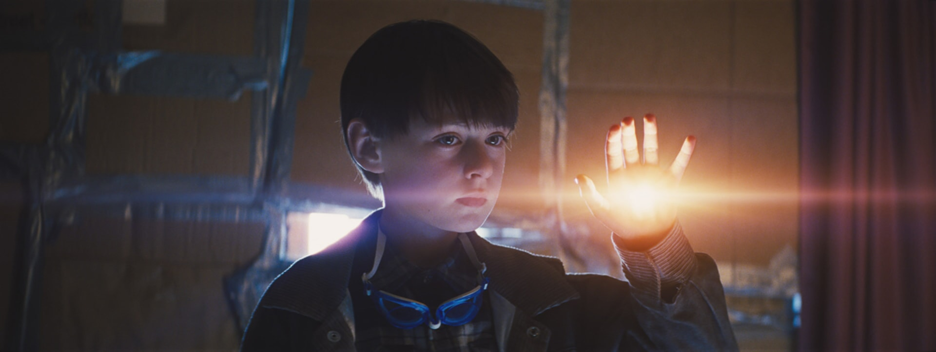 "JAEDEN LIEBERHER as Alton in director Jeff Nichols' sci-fi thriller ""MIDNIGHT SPECIAL,"""