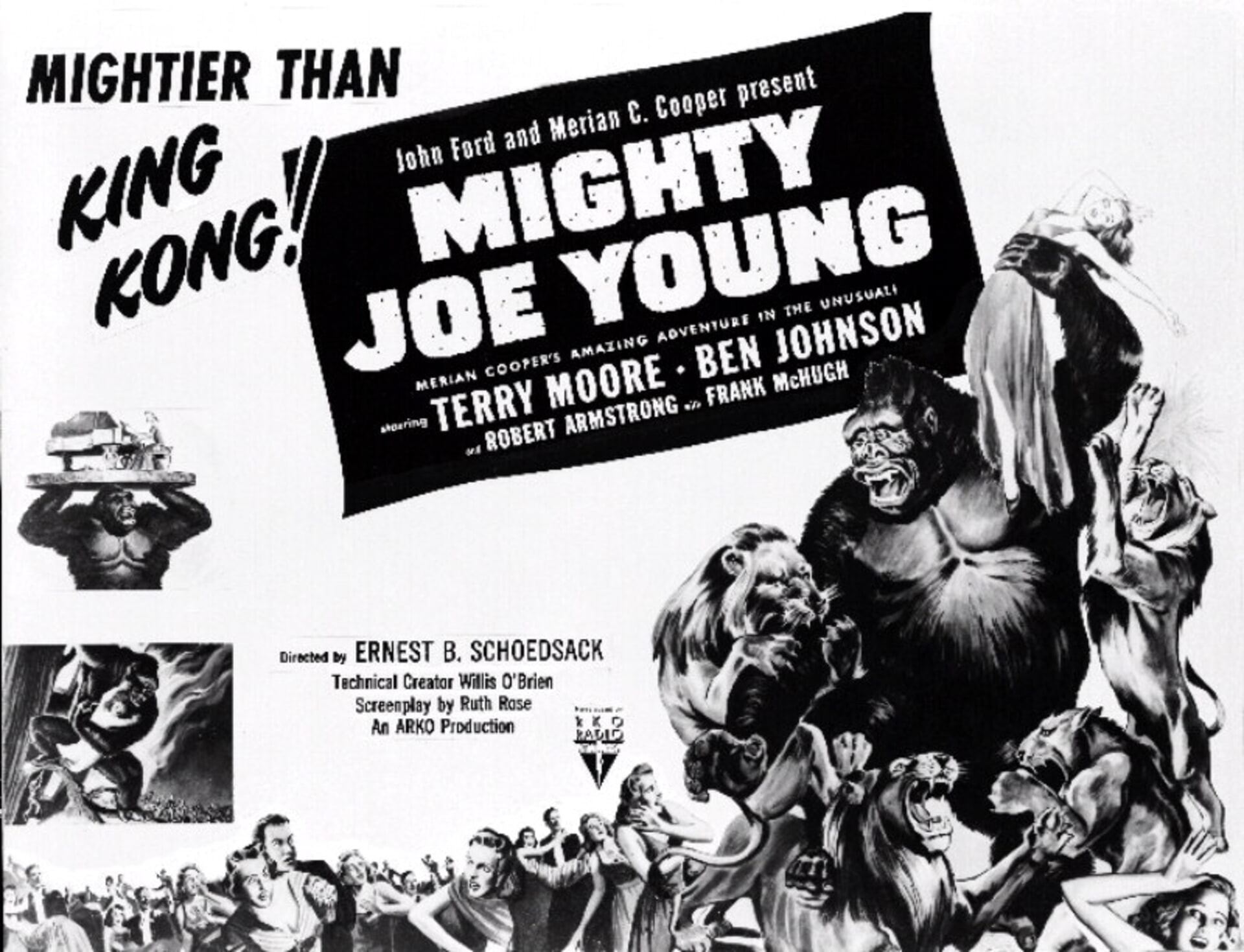 Mighty Joe Young - Poster 1