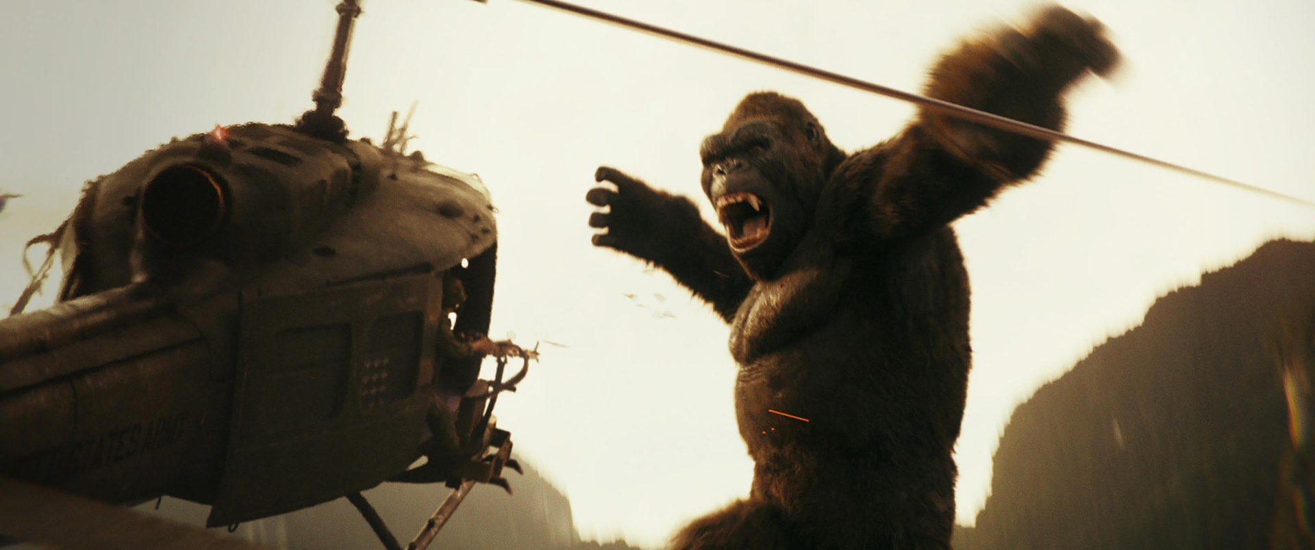 """KONG in Warner Bros. Pictures', Legendary Pictures' and Tencent Pictures' action adventure """"KONG: SKULL ISLAND,"""" a Warner Bros. Pictures release."""