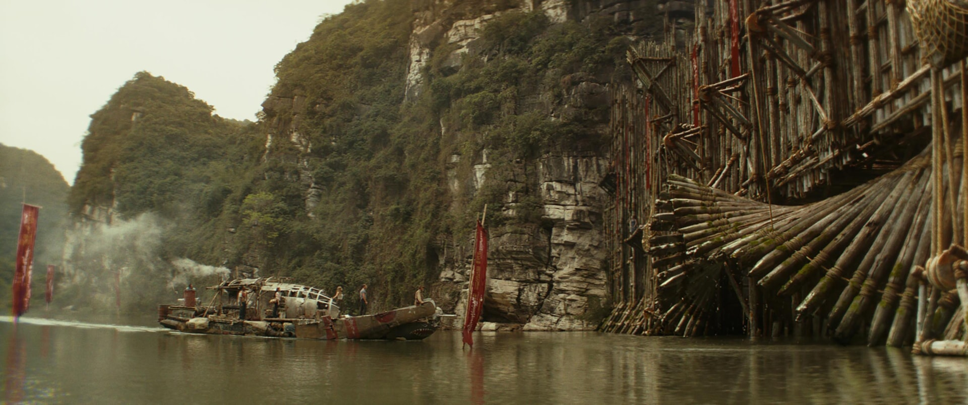 """A scene from Warner Bros. Pictures', Legendary Pictures' and Tencent Pictures' action adventure """"KONG: SKULL ISLAND,"""" a Warner Bros. Pictures release."""