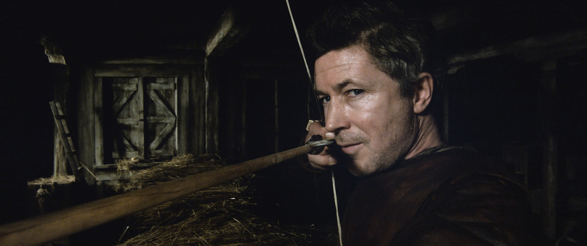"AIDAN GILLEN as Bill in Warner Bros. Pictures' and Village Roadshow Pictures' fantasy action adventure ""KING ARTHUR: LEGEND OF THE SWORD,"" distributed worldwide by Warner Bros. Pictures and in select territories by Village Roadshow Pictures."