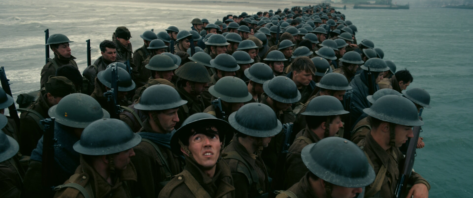 "A scene from Christopher Nolan's new epic action thriller ""DUNKIRK,"" a Warner Bros. Pictures release."