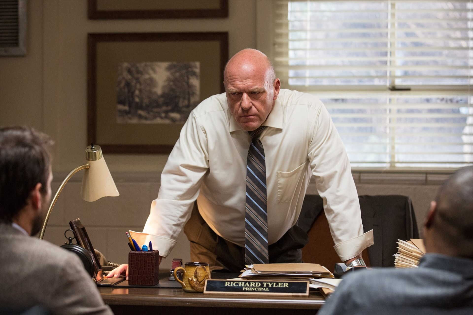"DEAN NORRIS as Principal Tyler in the New Line Cinema and Village Roadshow Pictures comedy ""FIST FIGHT,"" a Warner Bros. Pictures release."