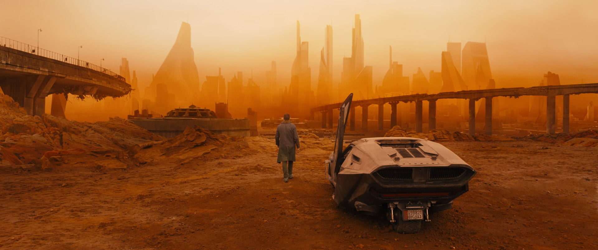 "RYAN GOSLING as K in Alcon Entertainment's sci fi thriller ""BLADE RUNNER 2049,"" a Warner Bros. Pictures and Sony Pictures Entertainment release, domestic distribution by Warner Bros. Pictures and international distribution by Sony Pictures."