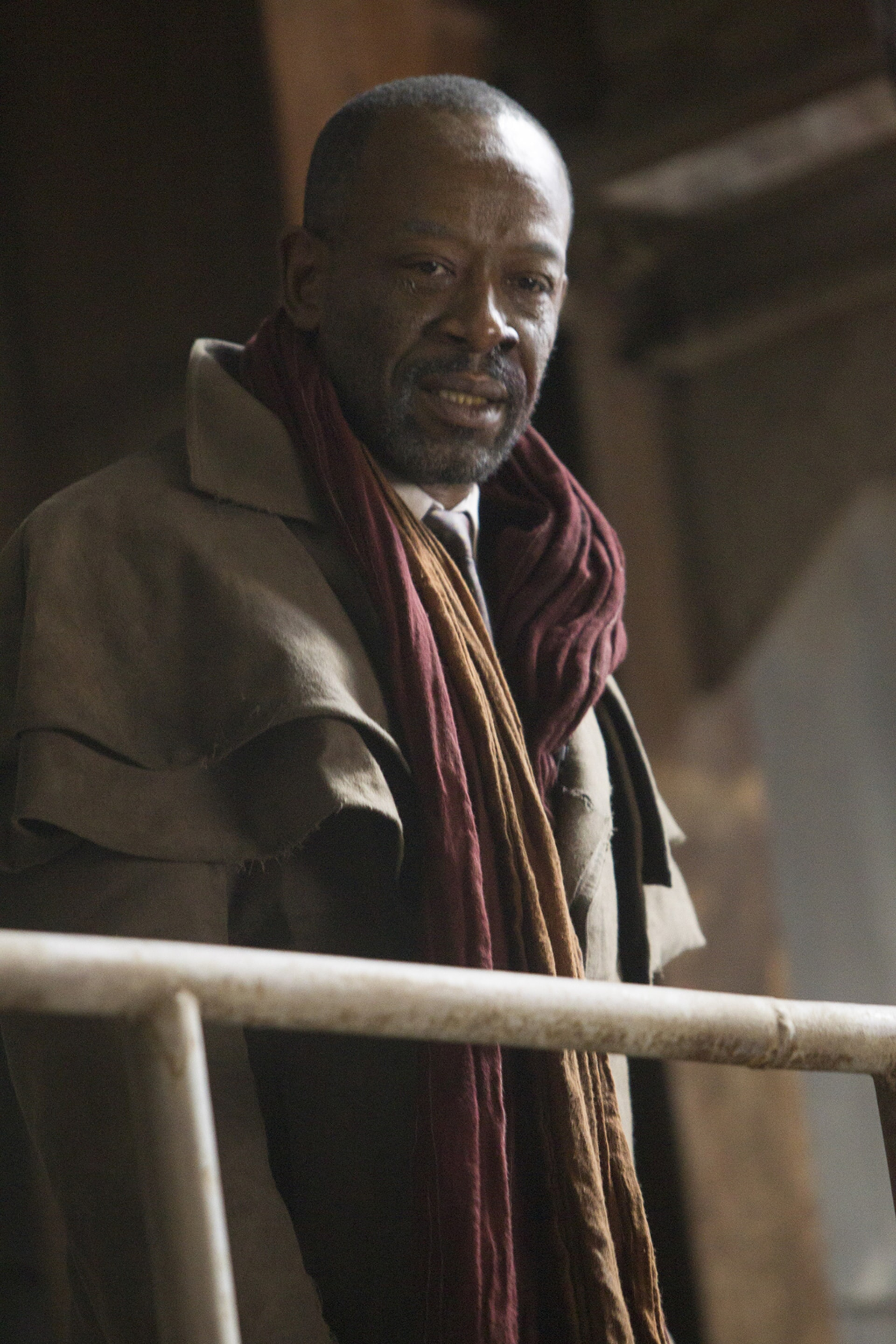 "LENNIE JAMES as Mister Cotton in Alcon Entertainment's action thriller ""BLADE RUNNER 2049,"" a Warner Bros. Pictures and Sony Pictures Entertainment release, domestic distribution by Warner Bros. Pictures and international distribution by Sony Pictures."