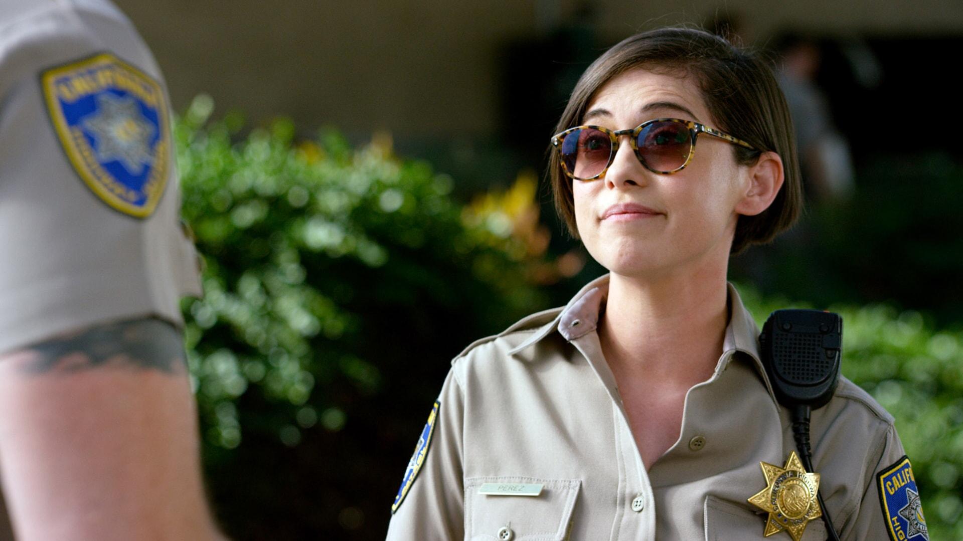 "ROSA SALAZAR as Ava Perez in Warner Bros. Pictures' action comedy ""CHIPS,"" a Warner Bros. Pictures release."