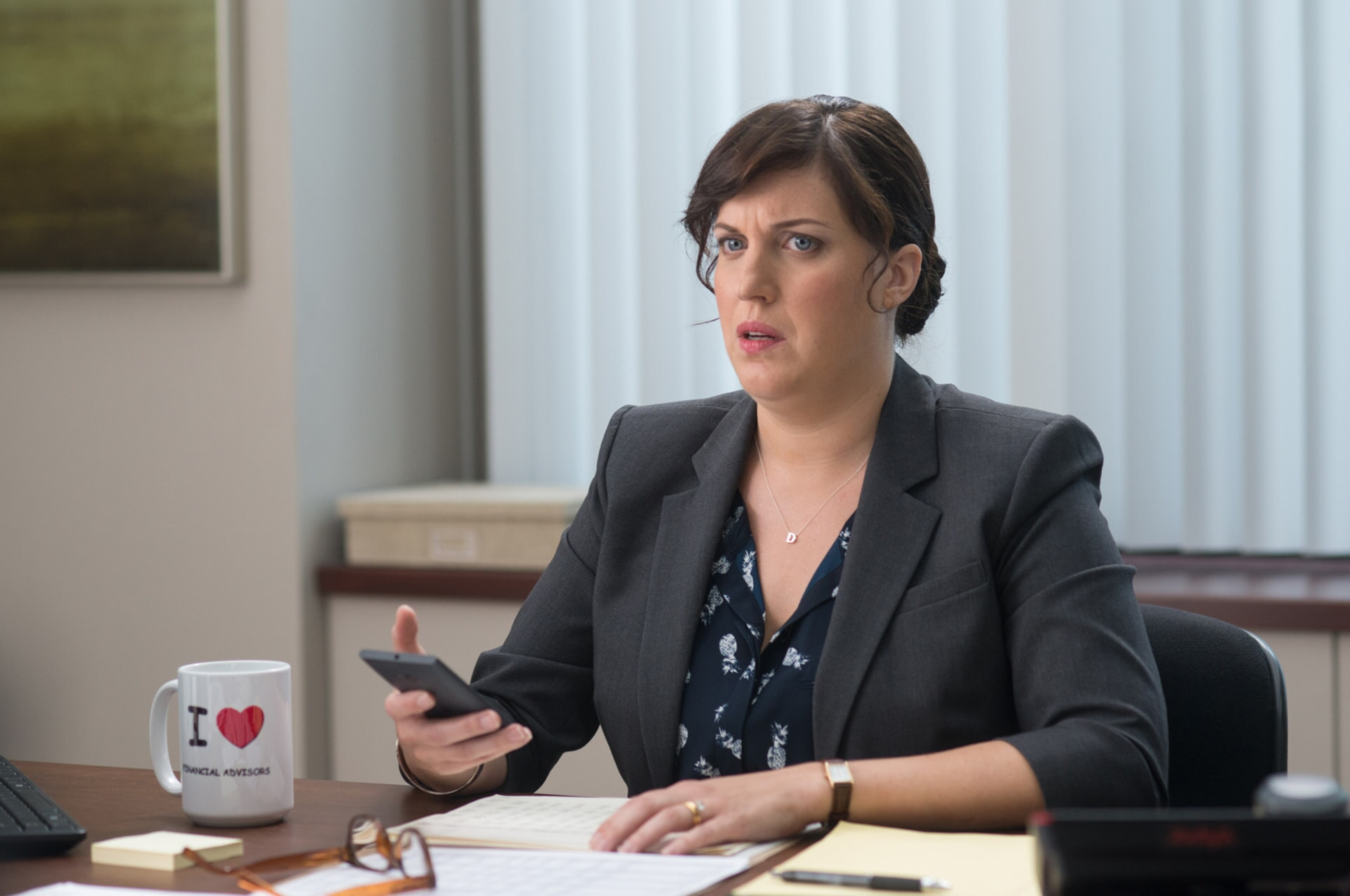 "ALLISON TOLMAN as Dawn in the New Line Cinema and Village Roadshow Pictures comedy ""THE HOUSE,"" a Warner Bros. Pictures release."