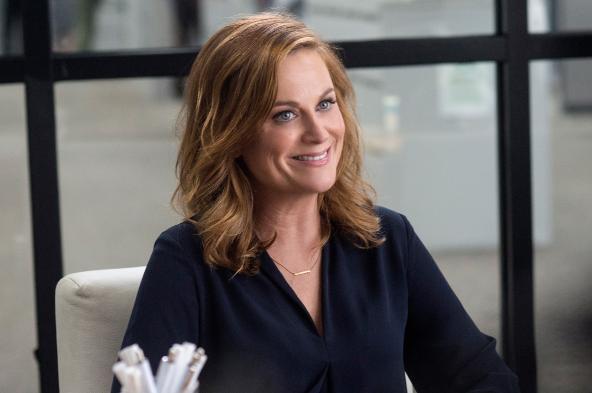 "AMY POEHLER as Kate Johansen in the New Line Cinema and Village Roadshow Pictures comedy ""THE HOUSE,"" a Warner Bros. Pictures release."