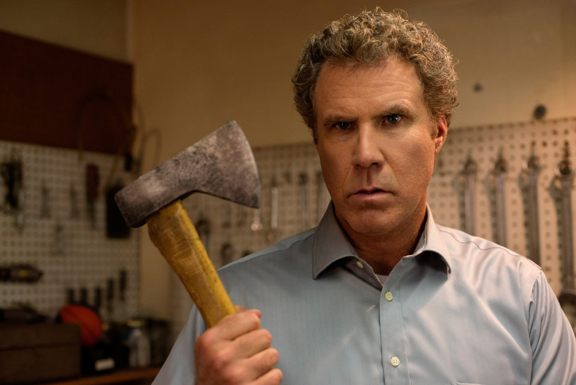 "WILL FERRELL as Scott Johansen in the New Line Cinema and Village Roadshow Pictures comedy ""THE HOUSE,"" a Warner Bros. Pictures release."