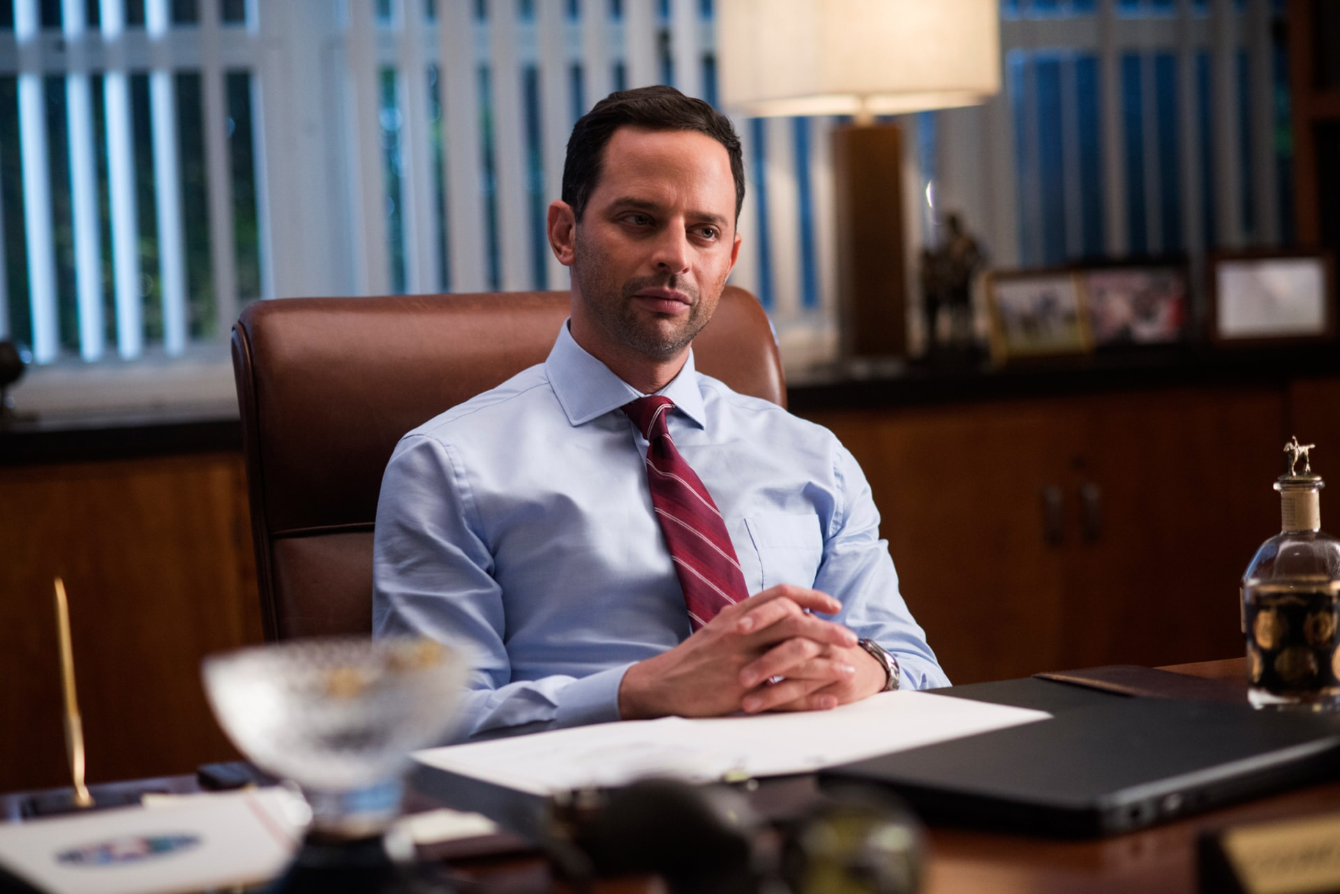 "NICK KROLL as Bob in the New Line Cinema and Village Roadshow Pictures comedy ""THE HOUSE,"" a Warner Bros. Pictures release."