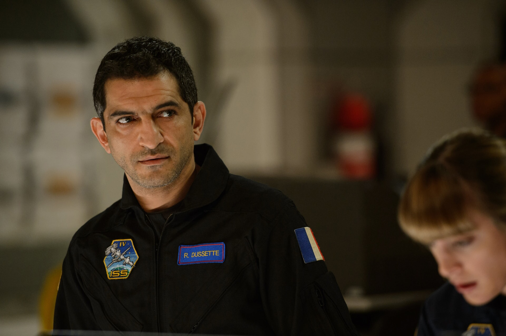 "AMR WAKED as Ray Dussette in Warner Bros. Pictures' and Skydance's suspense thriller ""GEOSTORM,"" a Warner Bros. Pictures release."