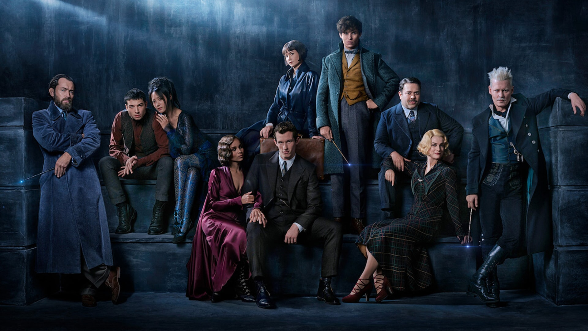 The cast of Fantastic Beasts: The Crimes of Grindelwald