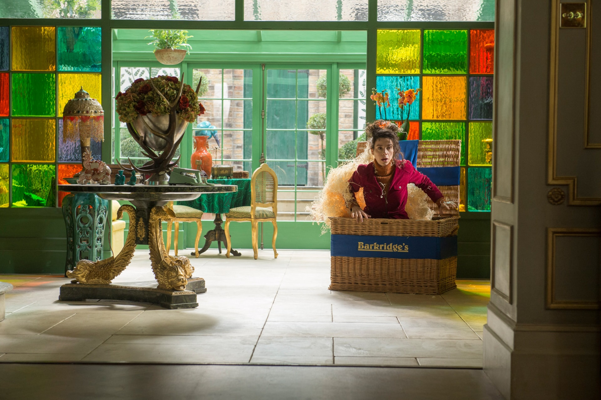 """SALLY HAWKINS as Mary Brown in the family adventure """"PADDINGTON 2,"""" from Warner Bros. Pictures and STUDIOCANAL, in association with Anton Capital Entertainment S.C.A., a Warner Bros. Pictures release."""
