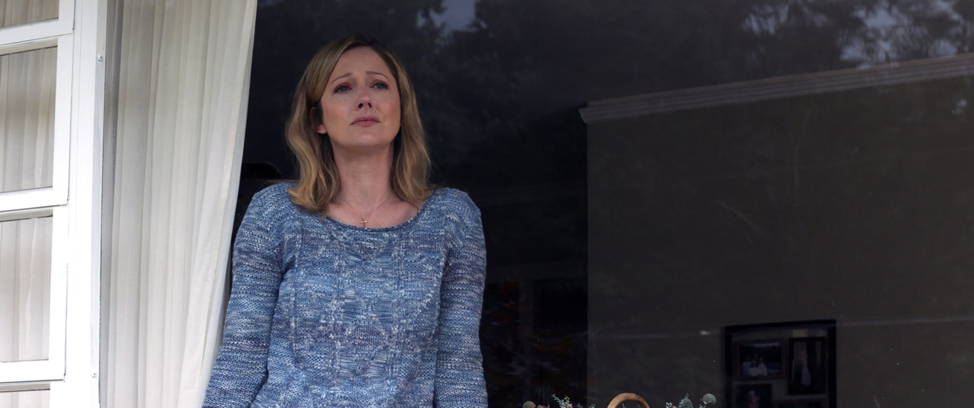 """JUDY GREER as Joyce in Warner Bros. Pictures' and Village Roadshow Pictures' """"THE 15:17 TO PARIS,"""" a Warner Bros. Pictures release."""