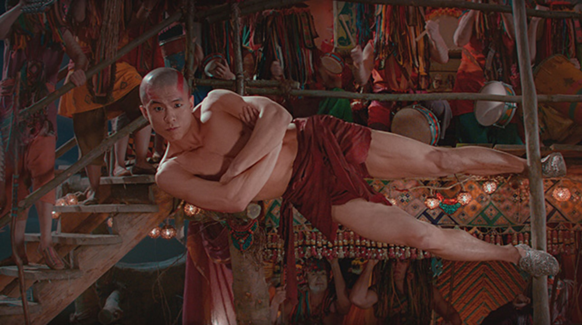 """TAEJOO NA as Kwahu in Warner Bros. Pictures' and RatPac-Dune Entertainment's action adventure """"PAN,"""" a Warner Bros. Pictures release."""