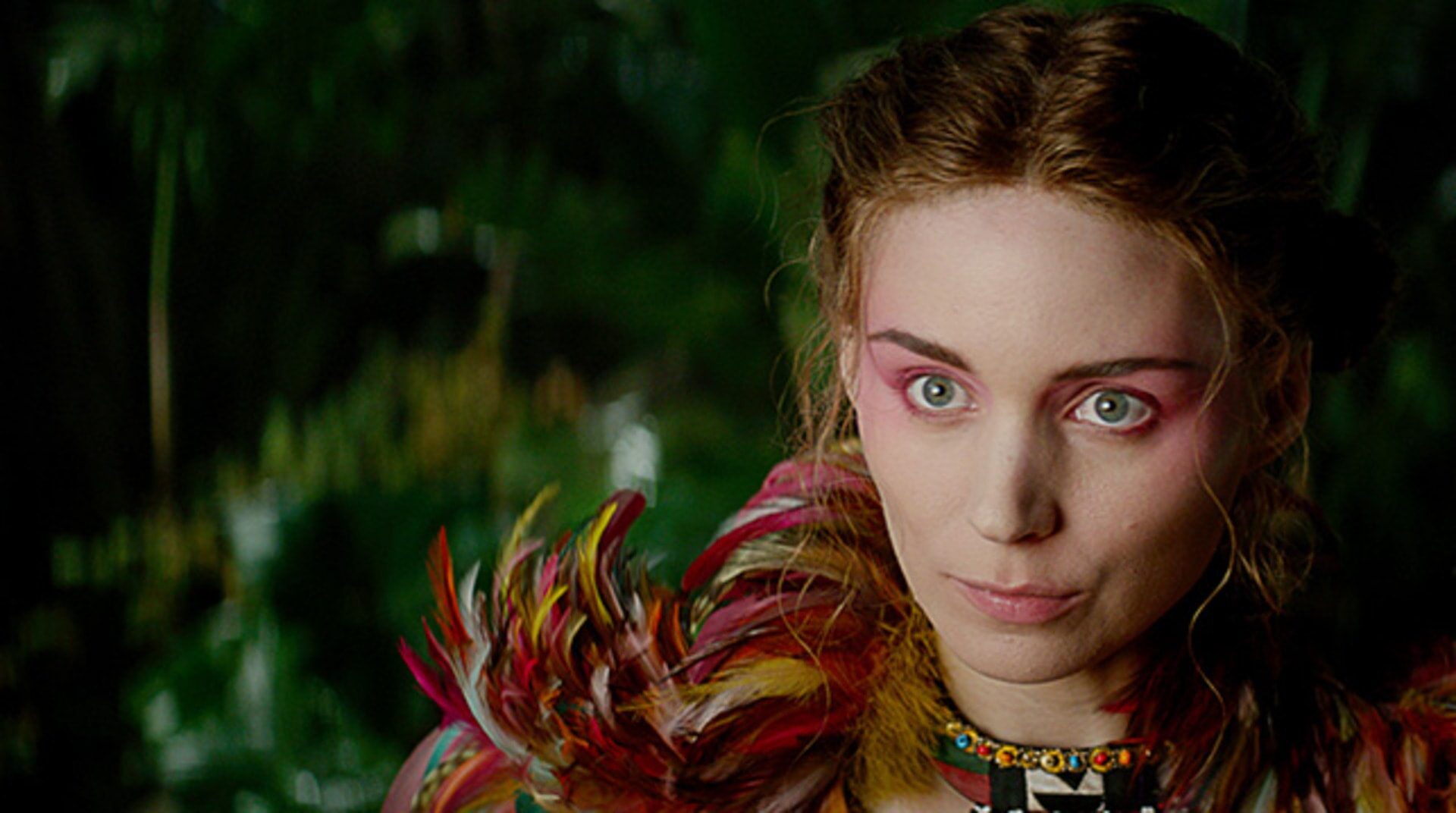 """ROONEY MARA as Tiger Lily in Warner Bros. Pictures' and RatPac-Dune Entertainment's action adventure """"PAN,"""" a Warner Bros. Pictures release."""