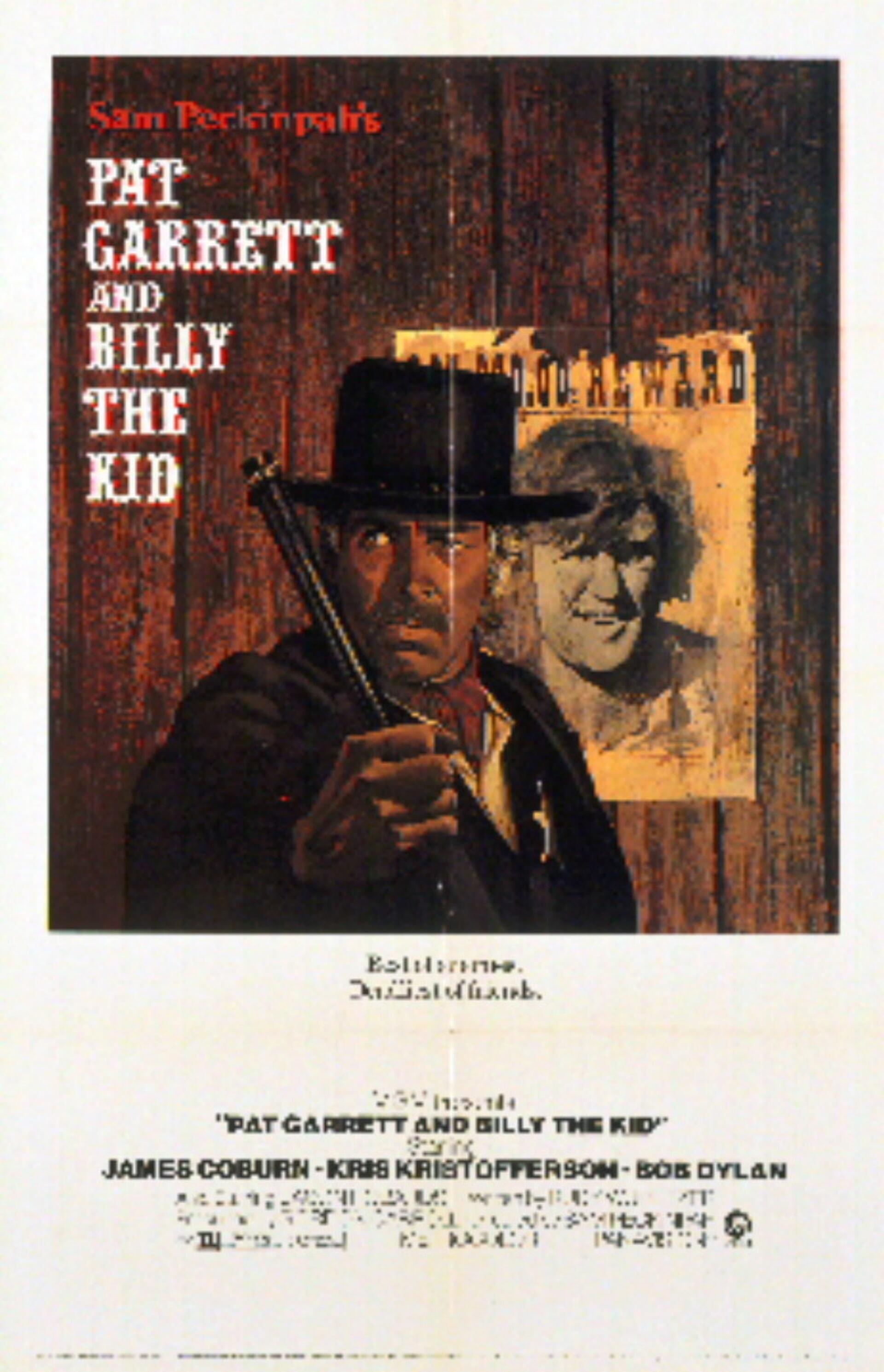 Pat Garrett & Billy the Kid - Poster 2