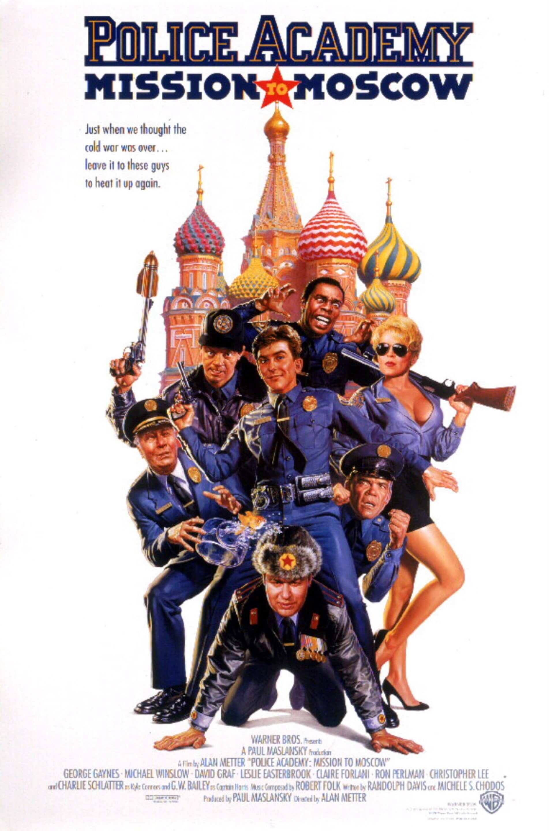 Police Academy: Mission to Moscow - Poster 1
