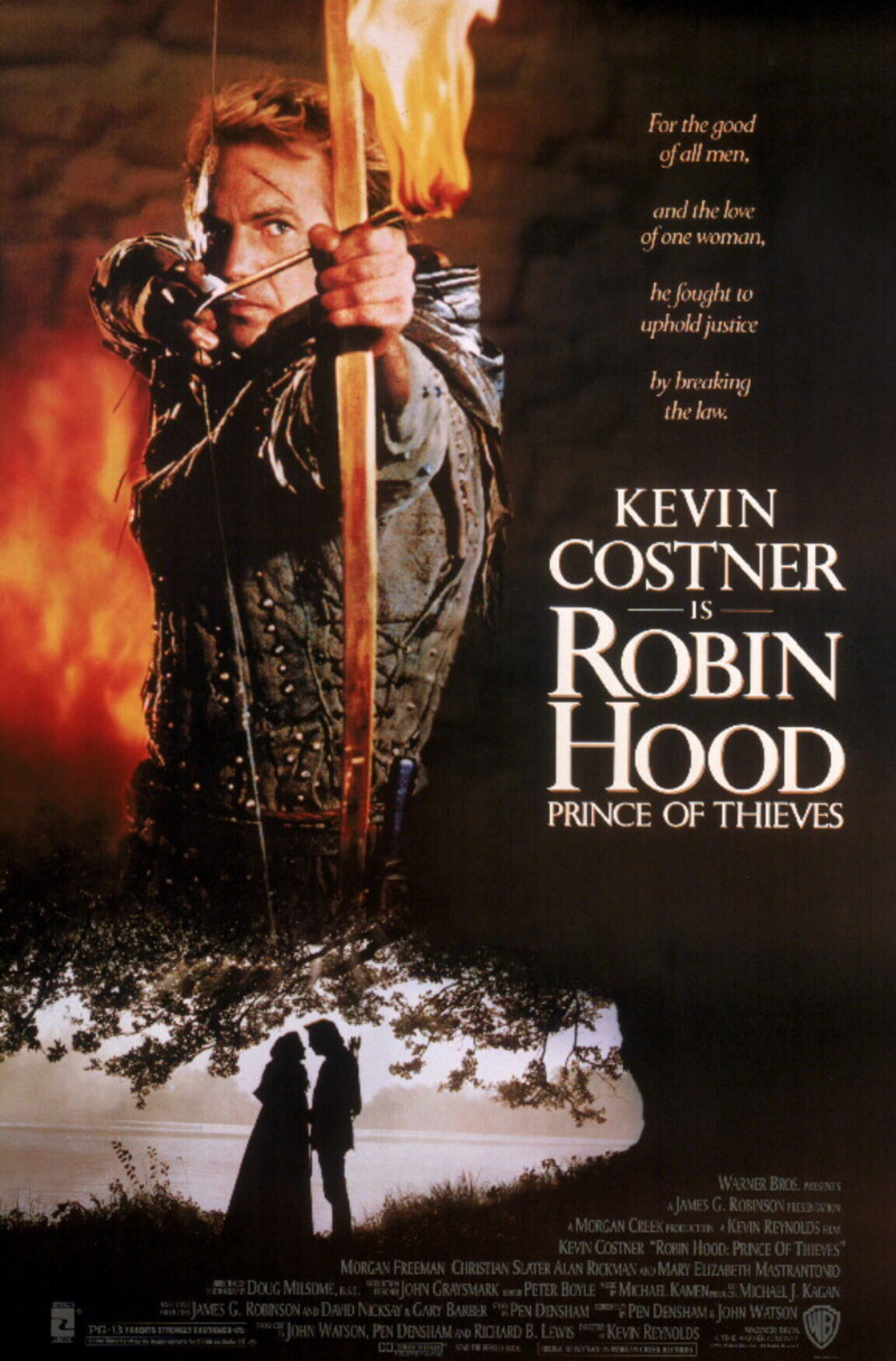 Robin Hood: Prince of Thieves - Poster 1