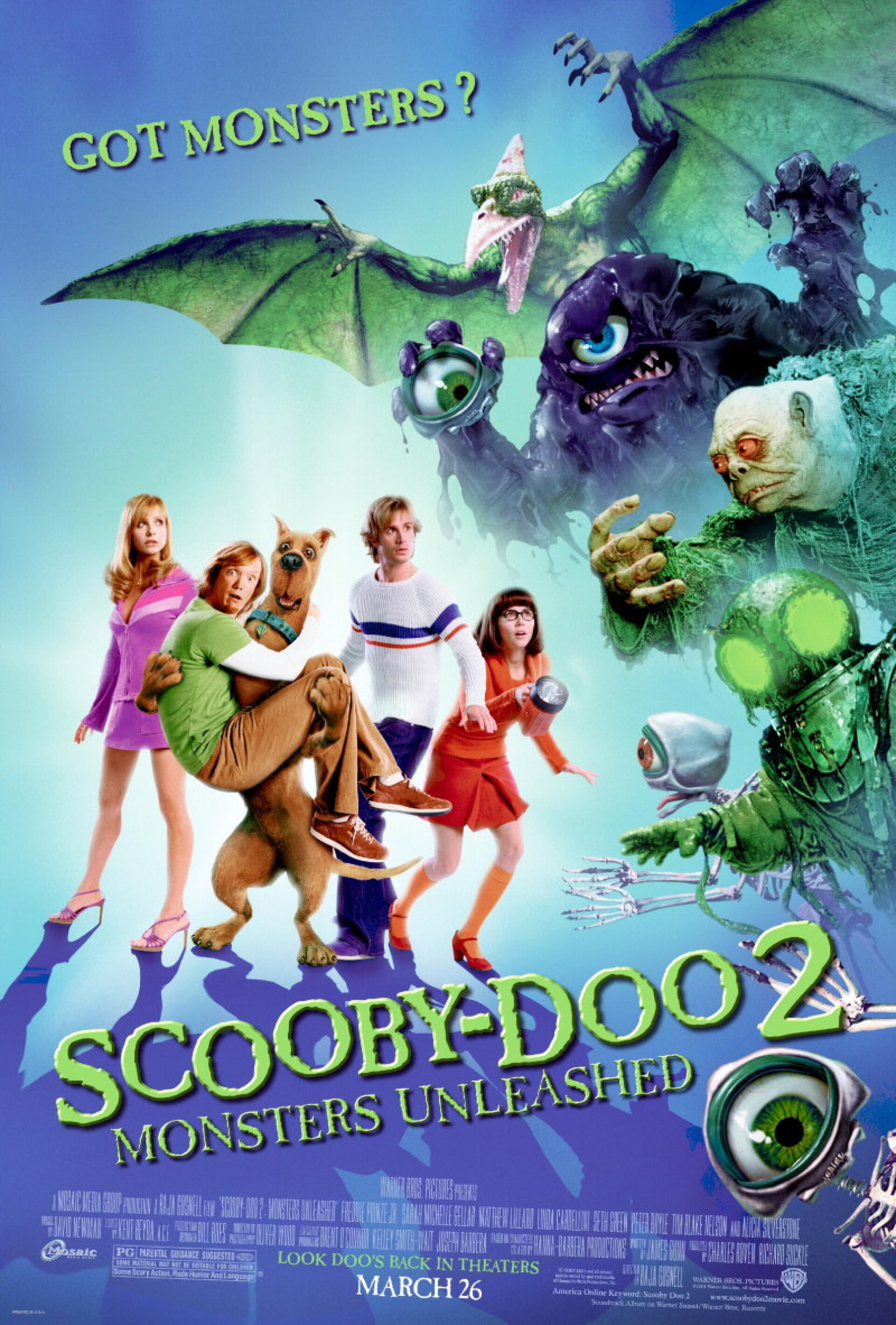 Scooby-doo 2: Monsters Unleashed - Poster 1