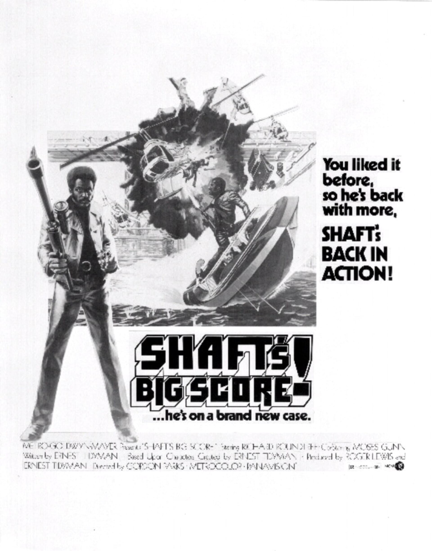 Shaft's Big Score - Poster 1