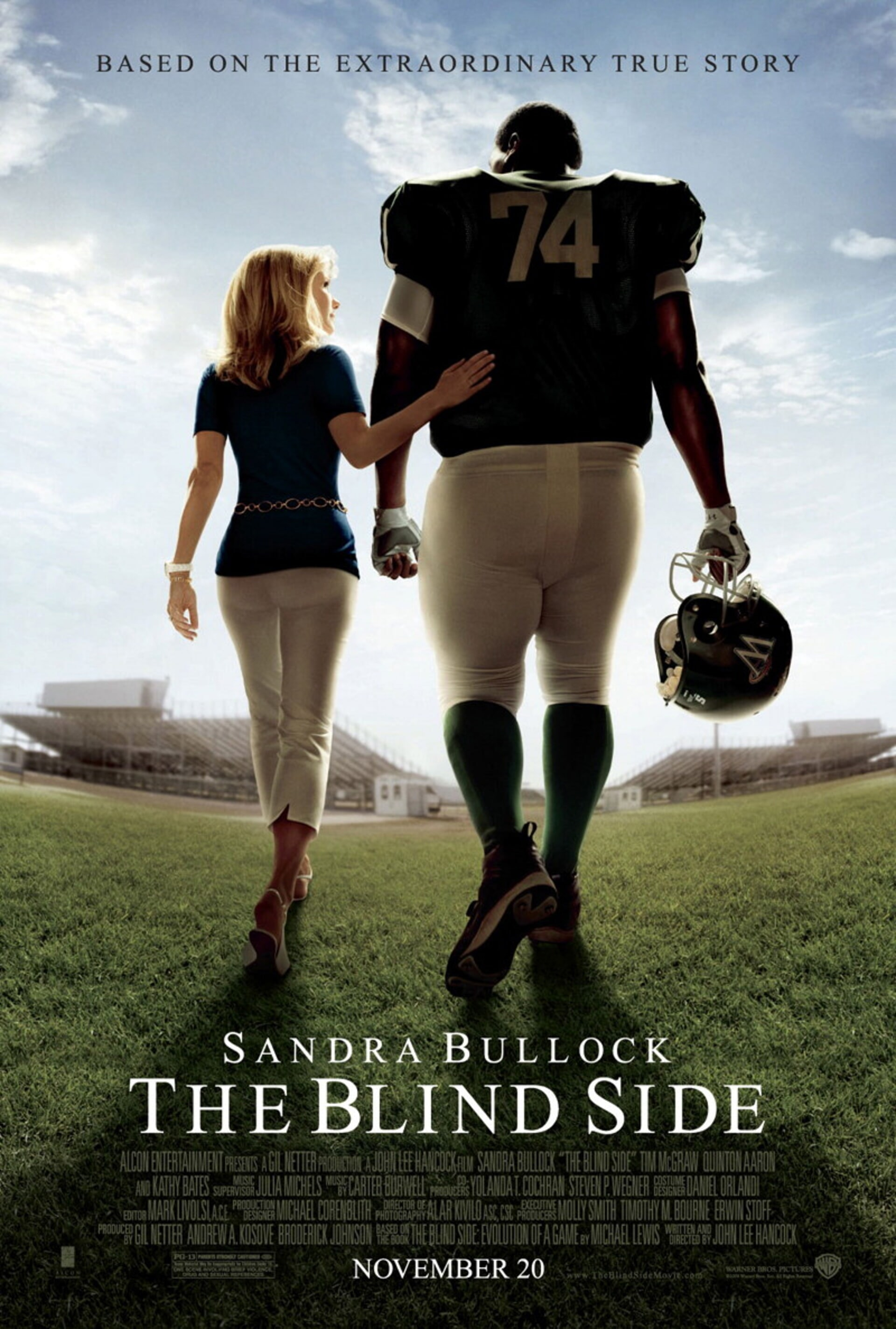The Blind Side - Poster 1