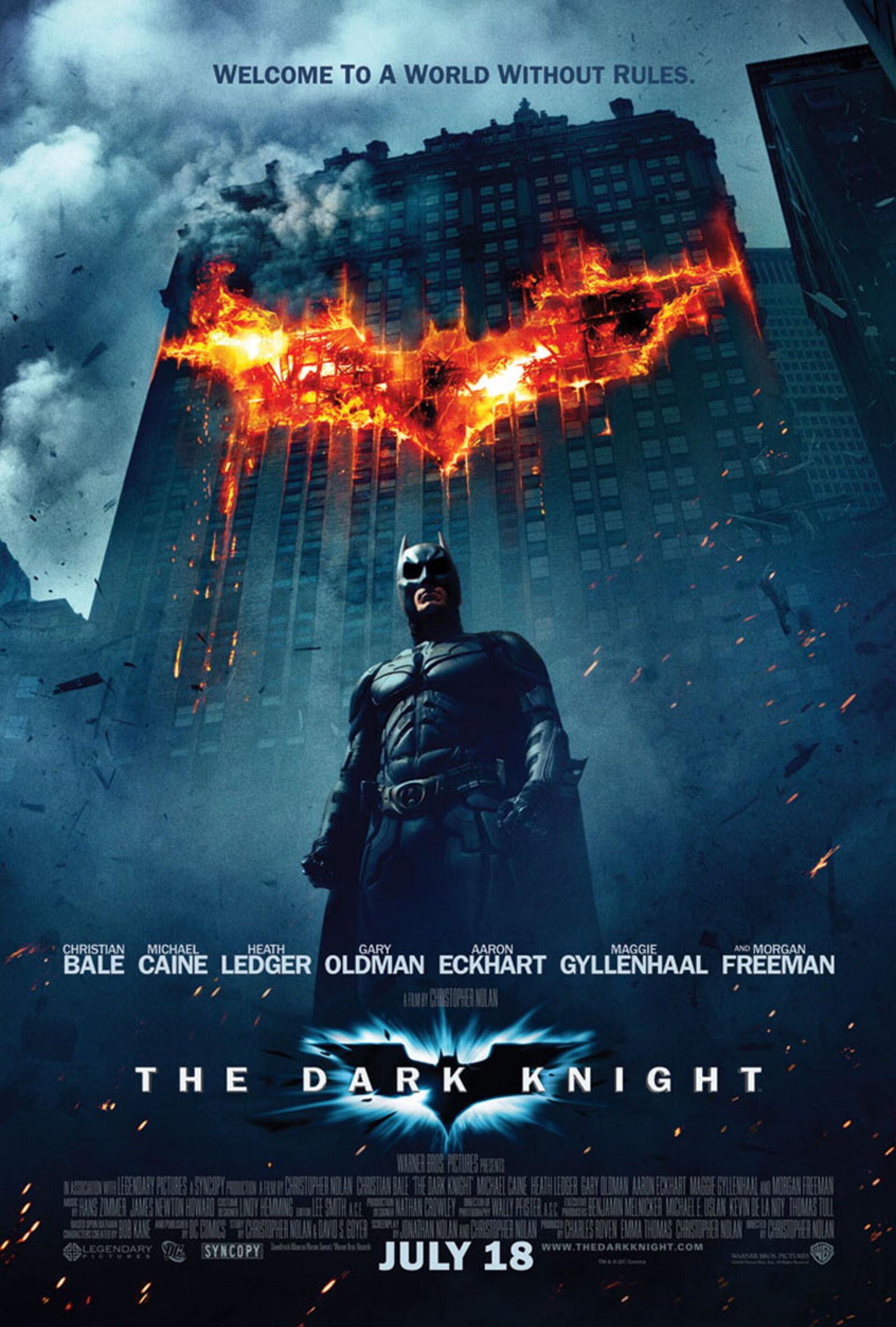 The Dark Knight - Poster 1