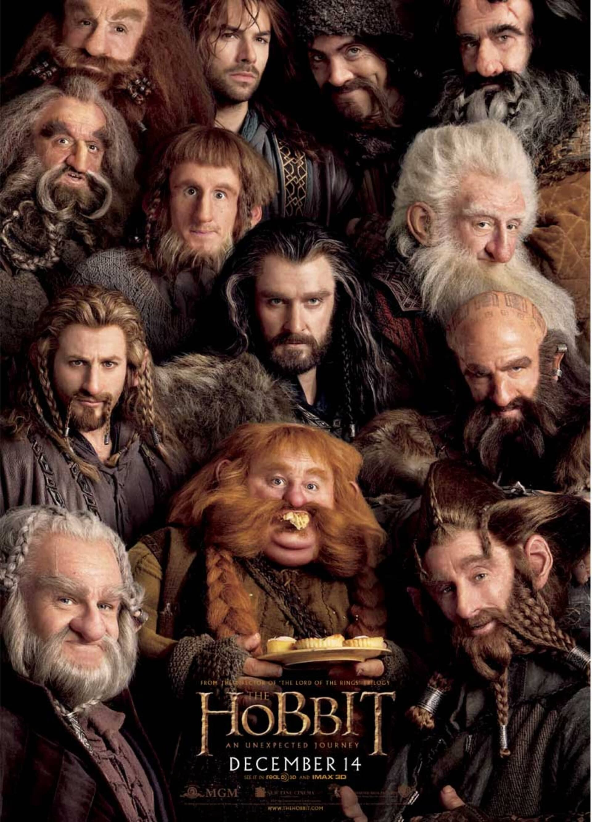 The Hobbit: An Unexpected Journey - Poster 2