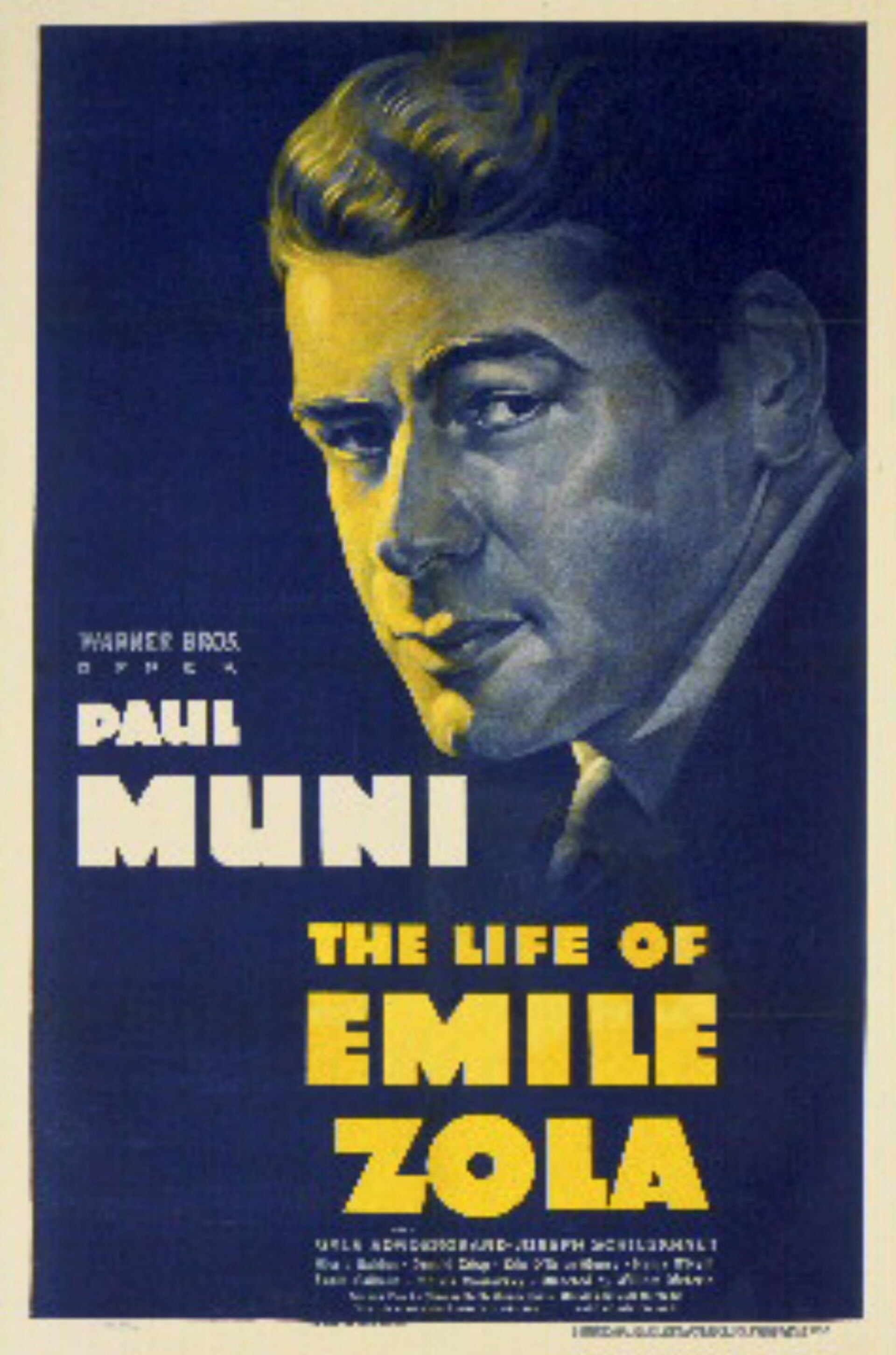 The Life of Emile Zola - Poster 1